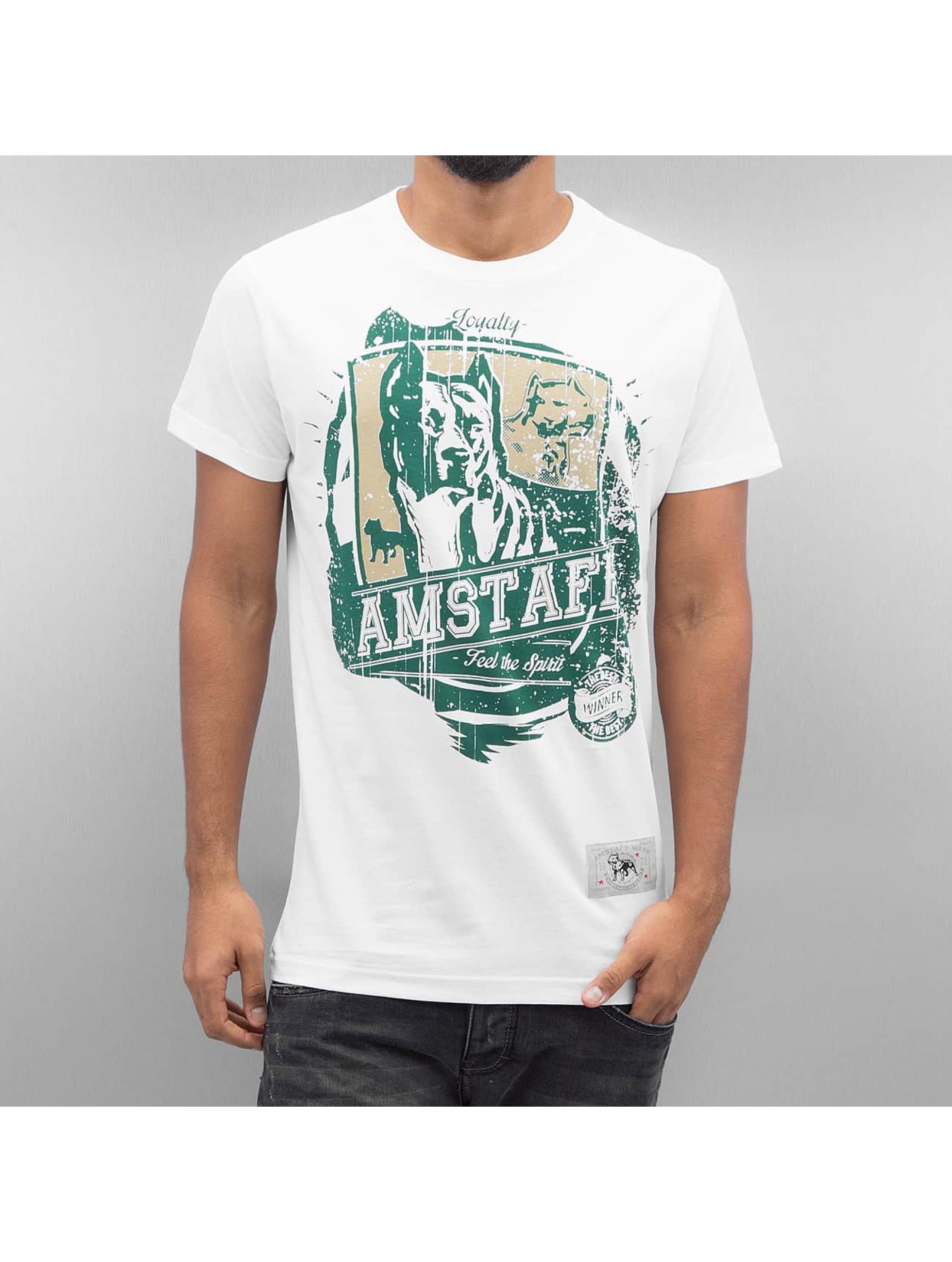 Amstaff Tričká Kito biela