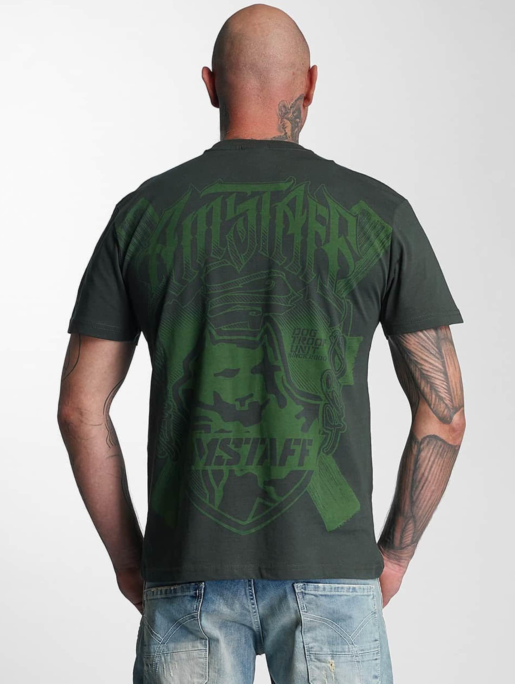 Amstaff Tričká Zillus zelená