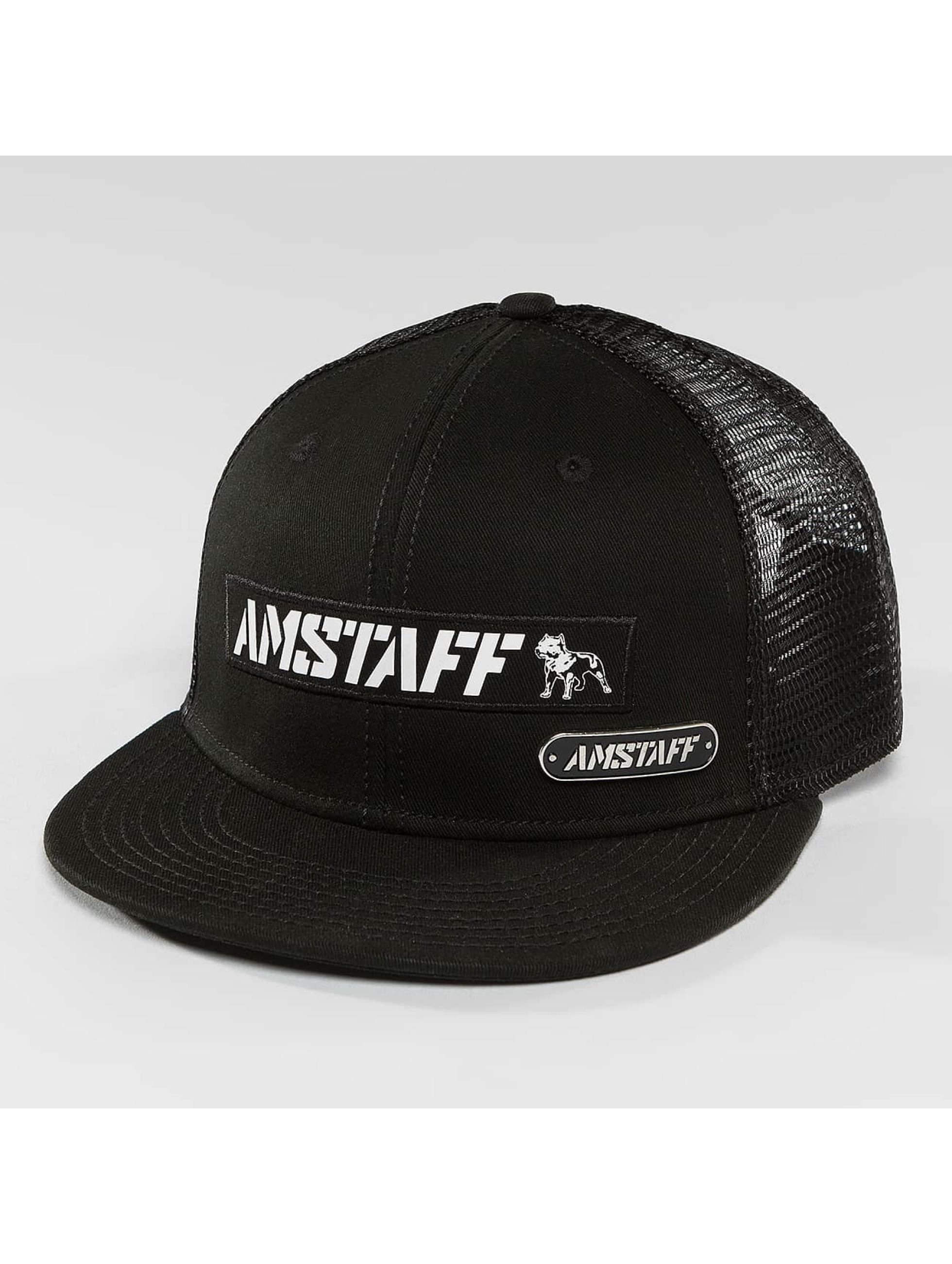 Amstaff Trucker Caps Eceno svart
