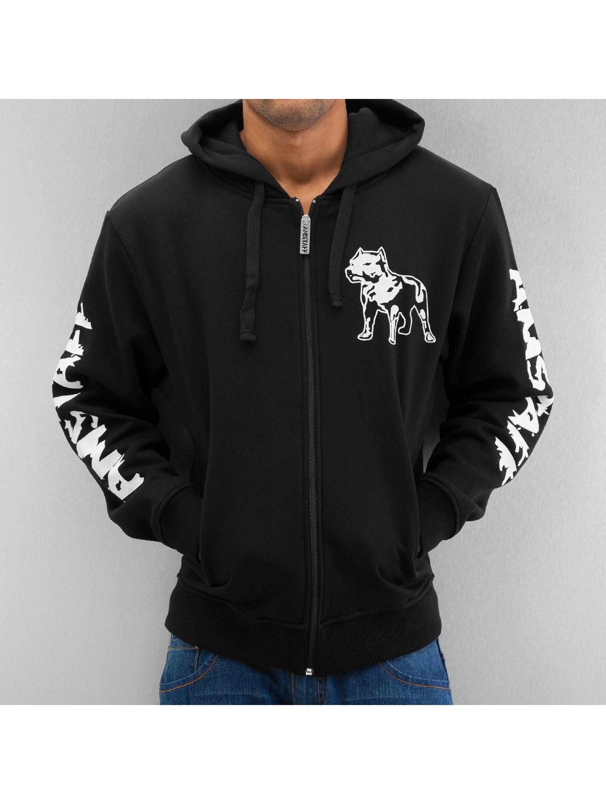 Amstaff Zip Hoodie Logo черный