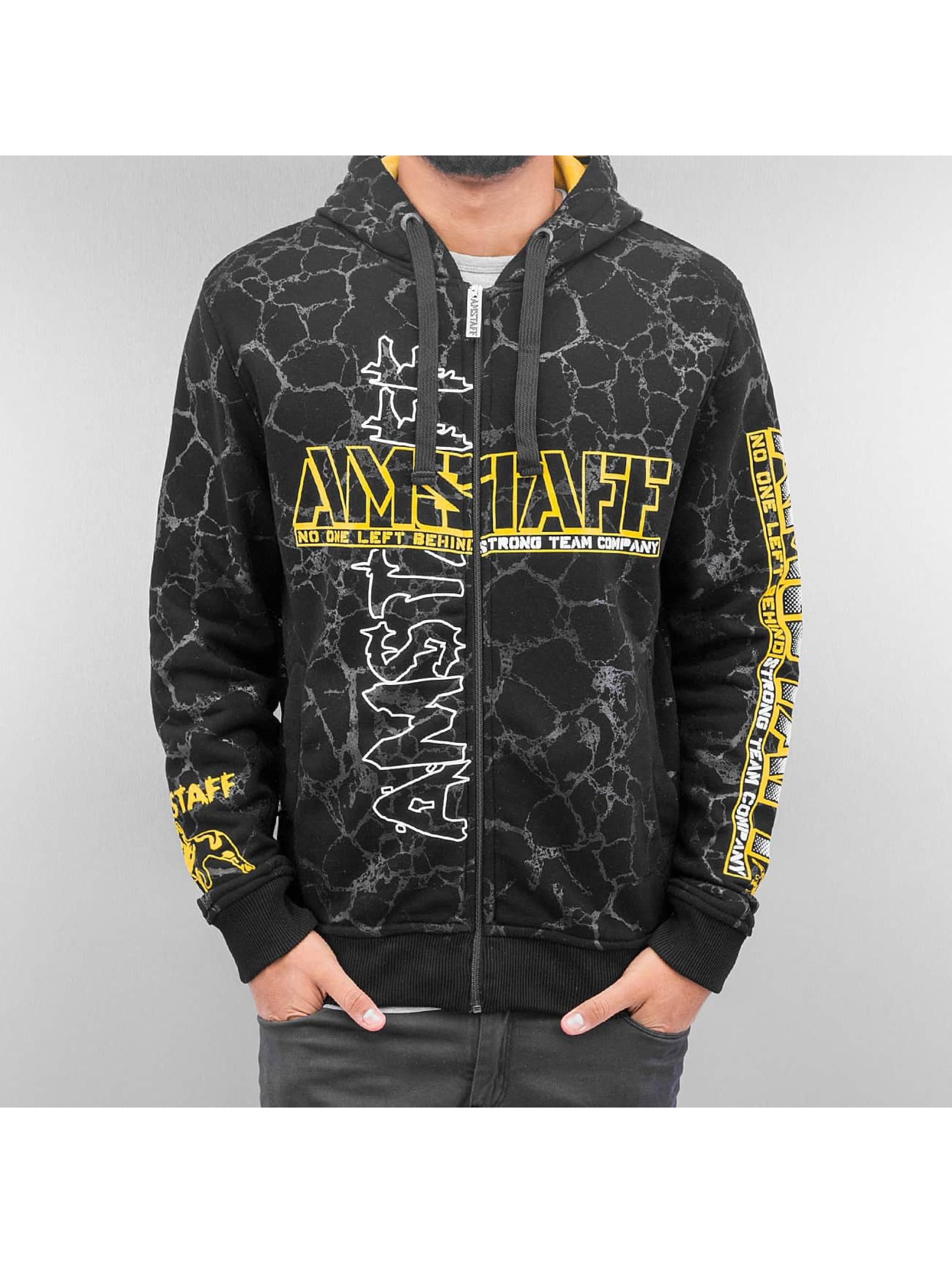 Amstaff Zip Hoodie Striker black