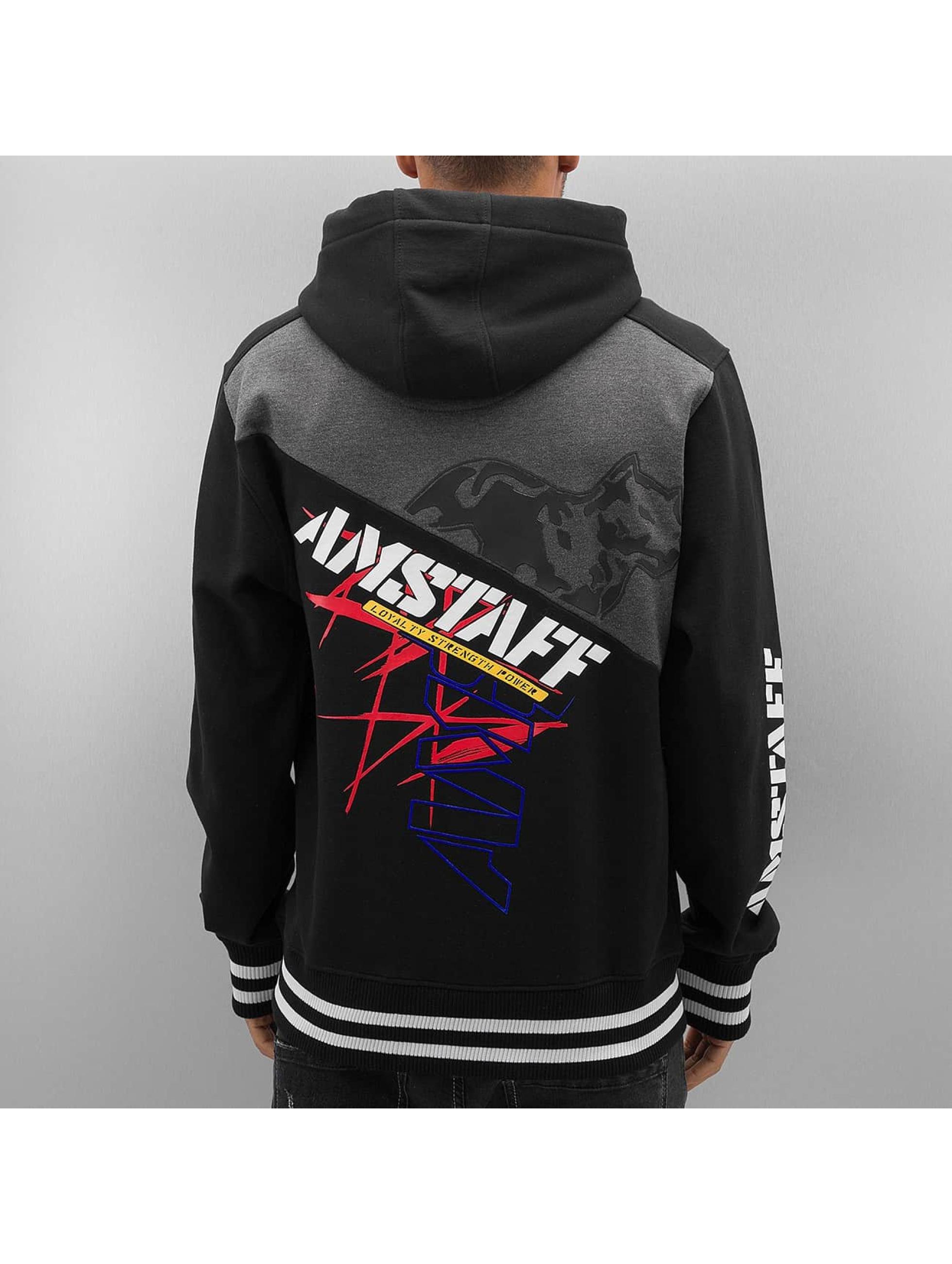 Amstaff Zip Hoodie Zelos black