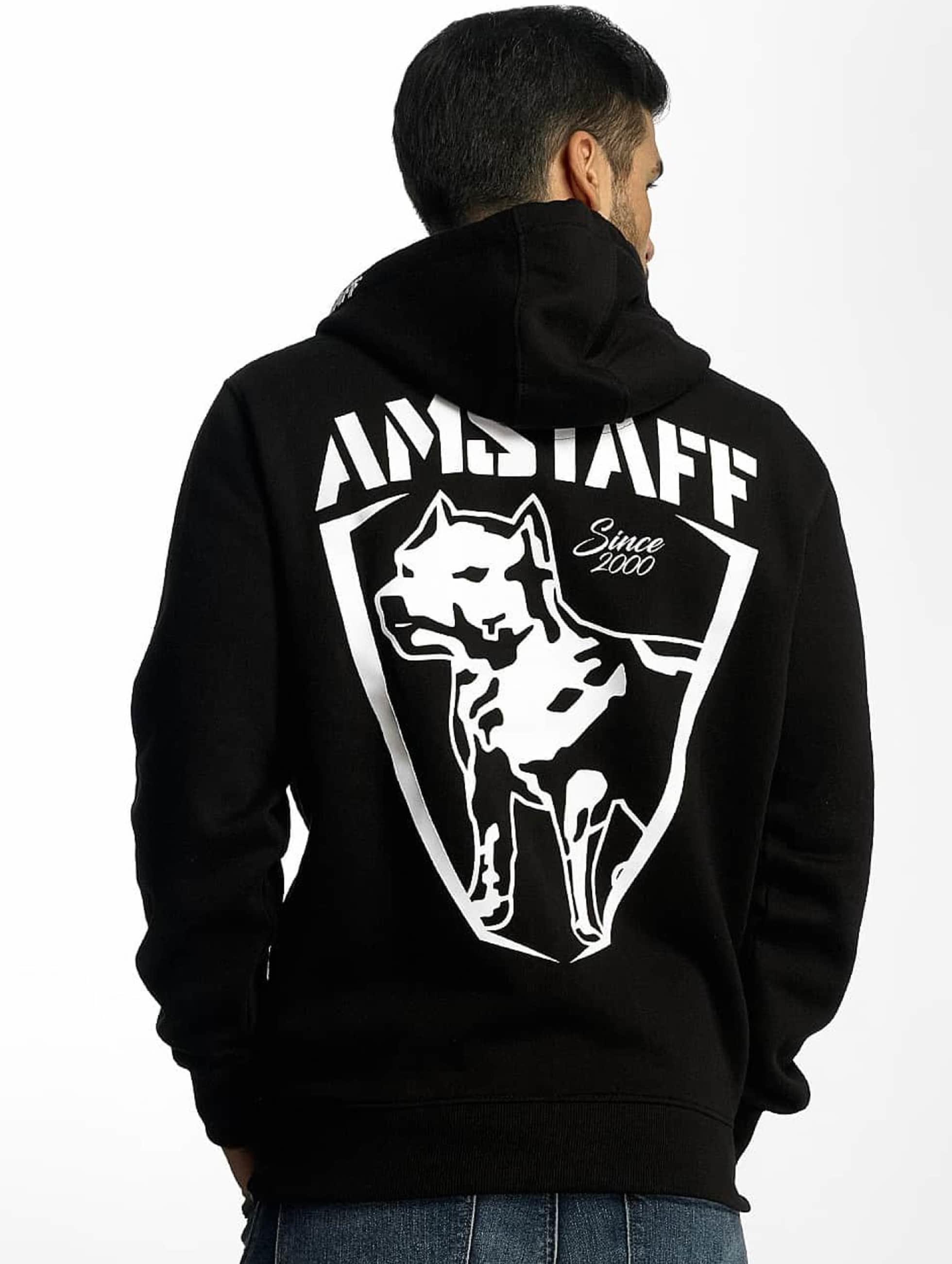 Amstaff Zip Hoodie Latos black