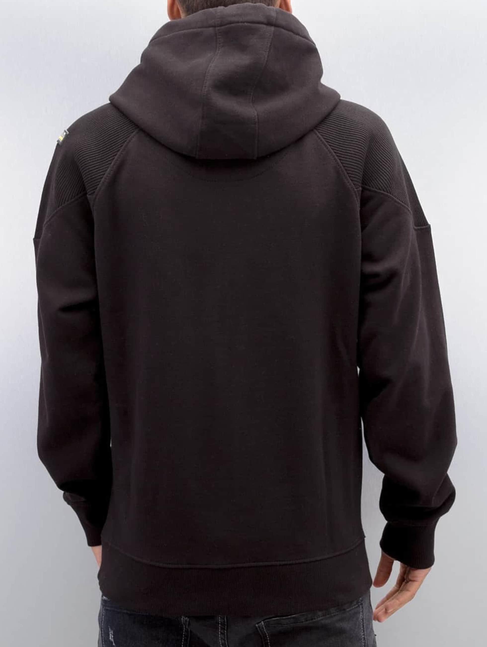 Amstaff Zip Hoodie Toson schwarz