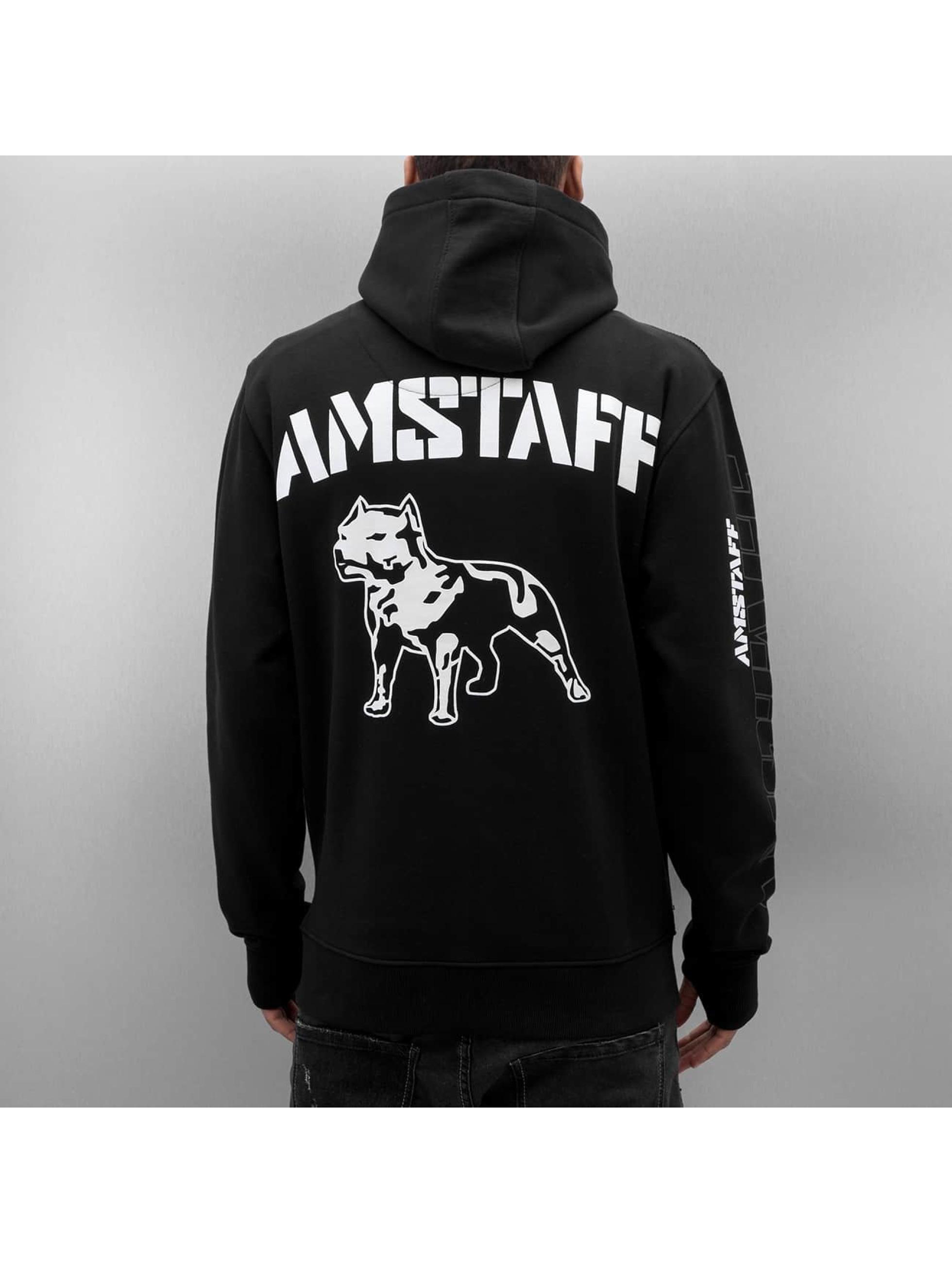 Amstaff Zip Hoodie Bantis svart