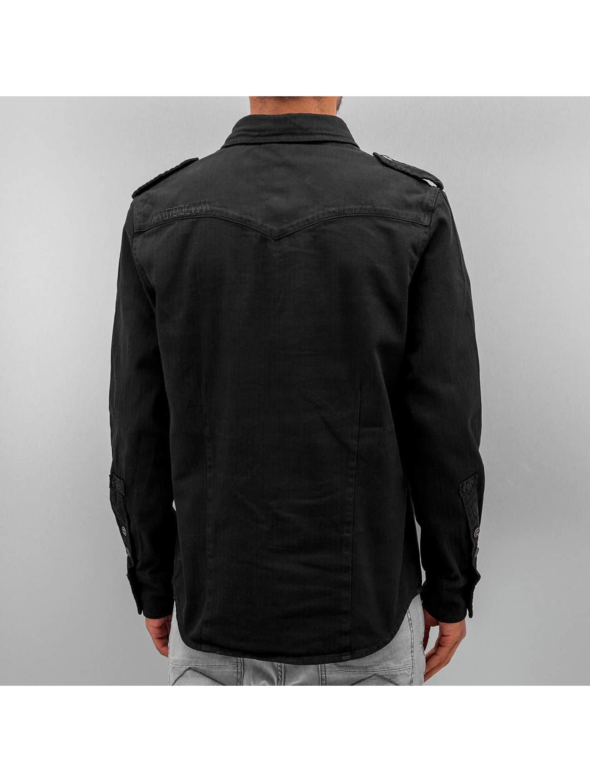 Amsterdenim Camicia Tinus nero
