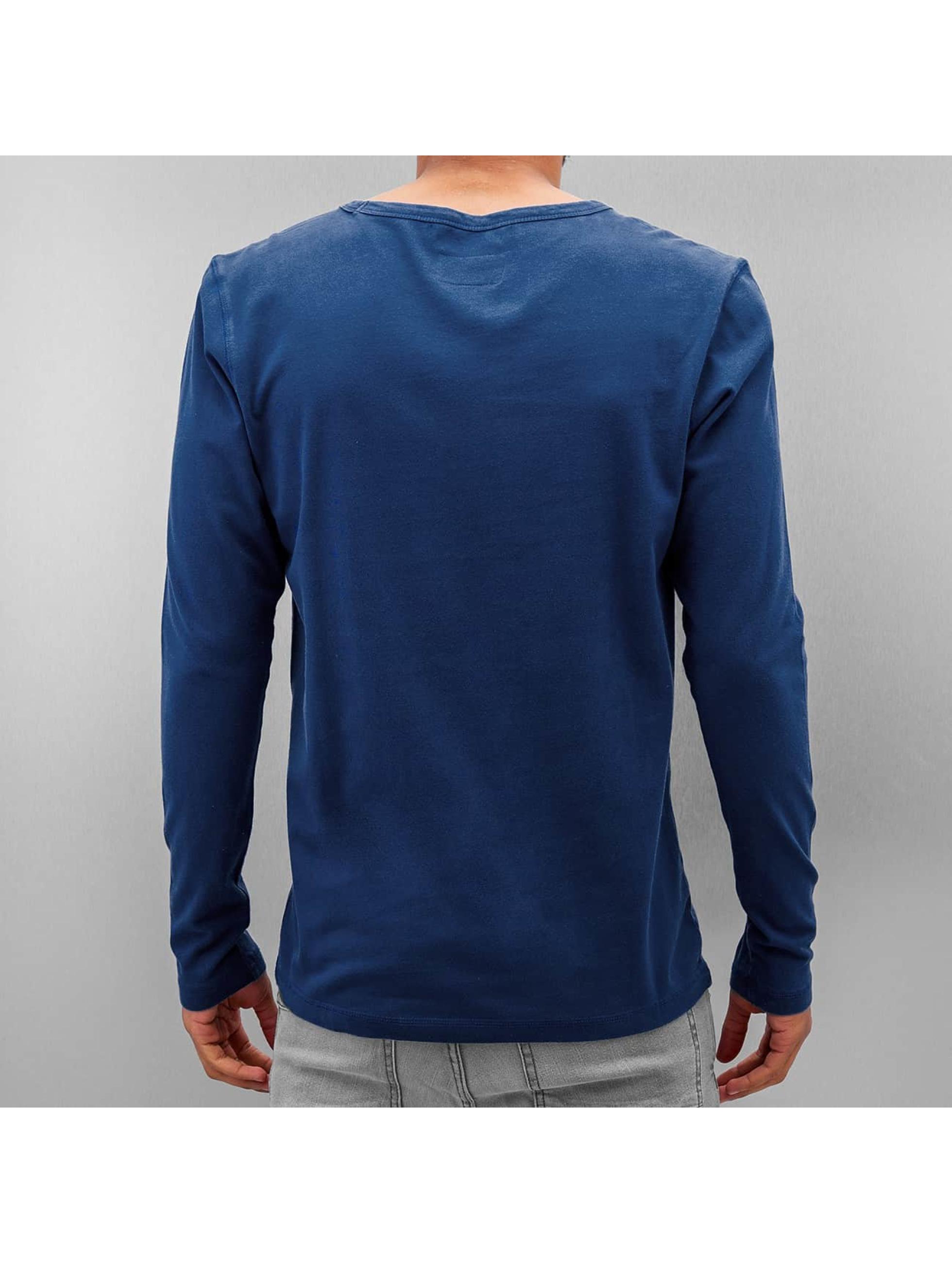 Amsterdenim Camiseta de manga larga Nelis azul