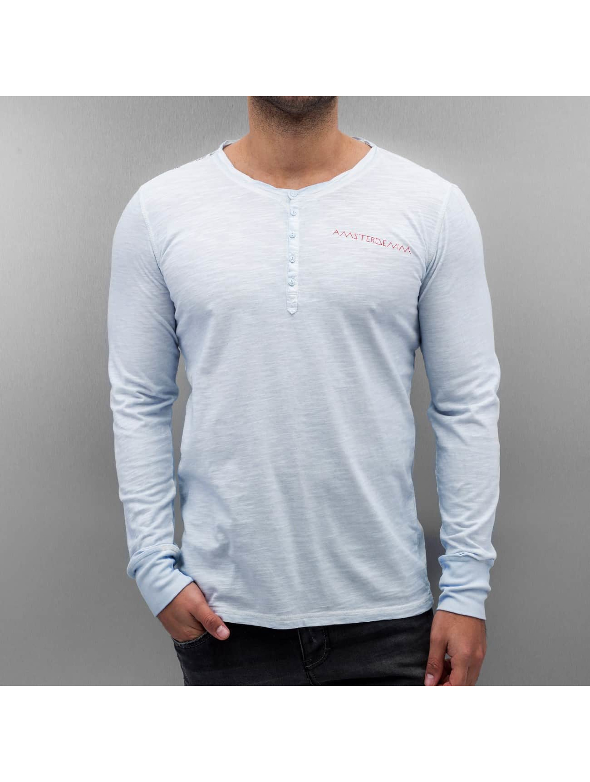 Amsterdenim Camiseta de manga larga Leen azul