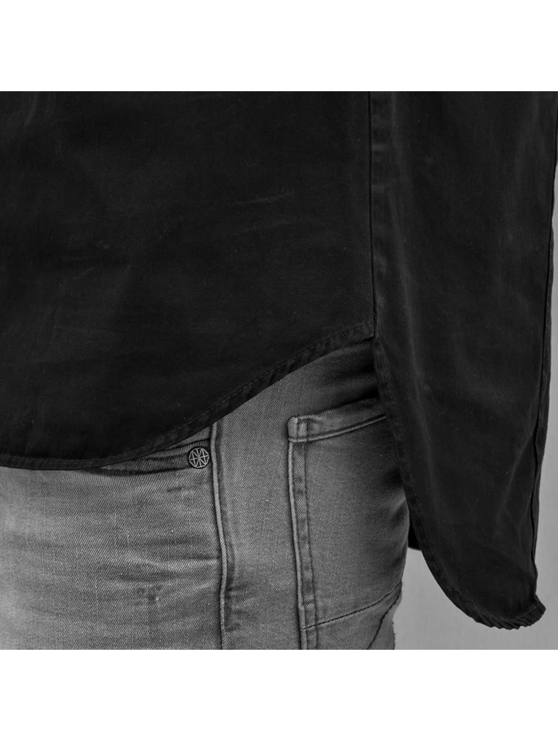 Amsterdenim Hemd Wim schwarz