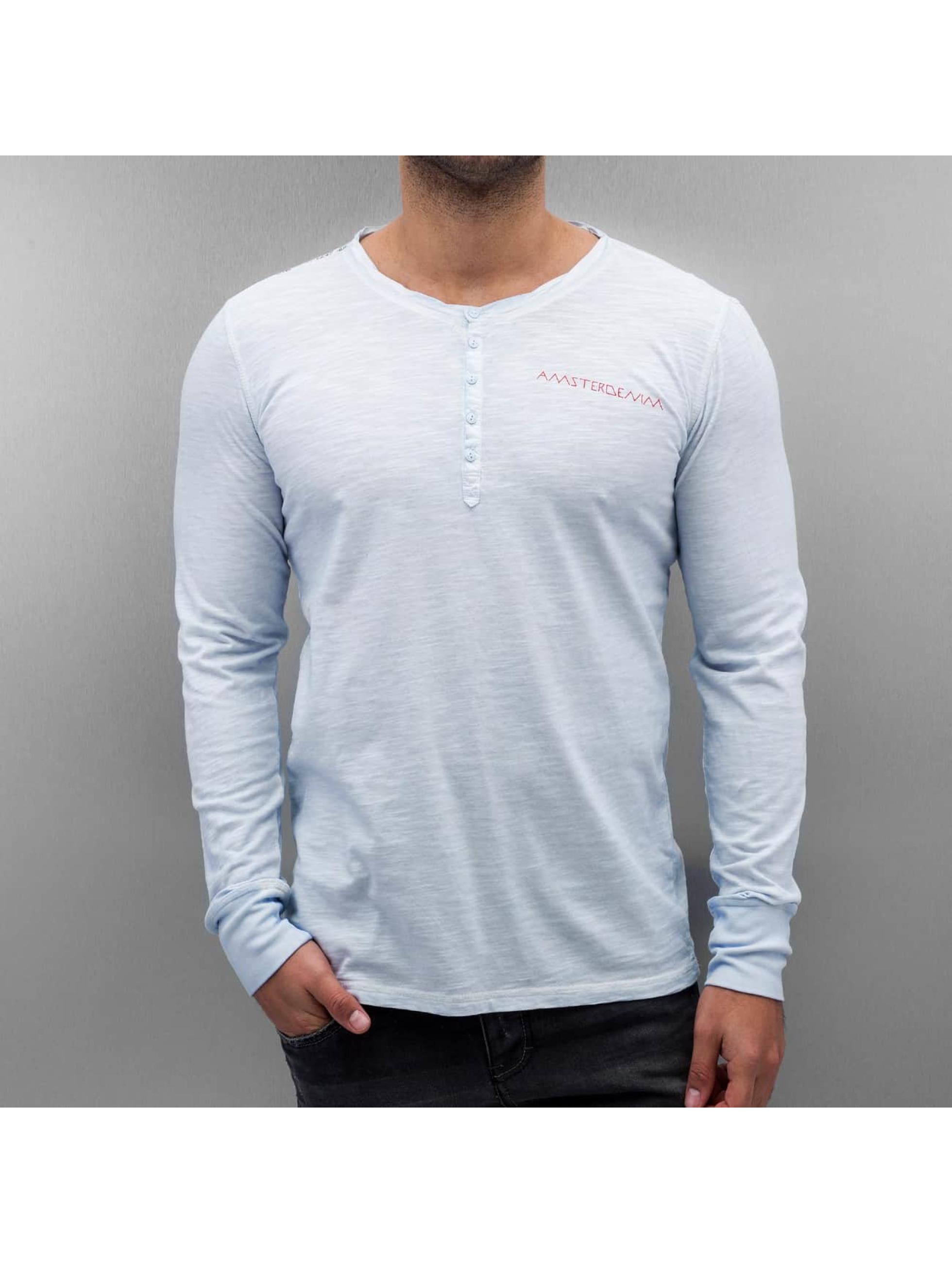 Amsterdenim Pitkähihaiset paidat Leen sininen