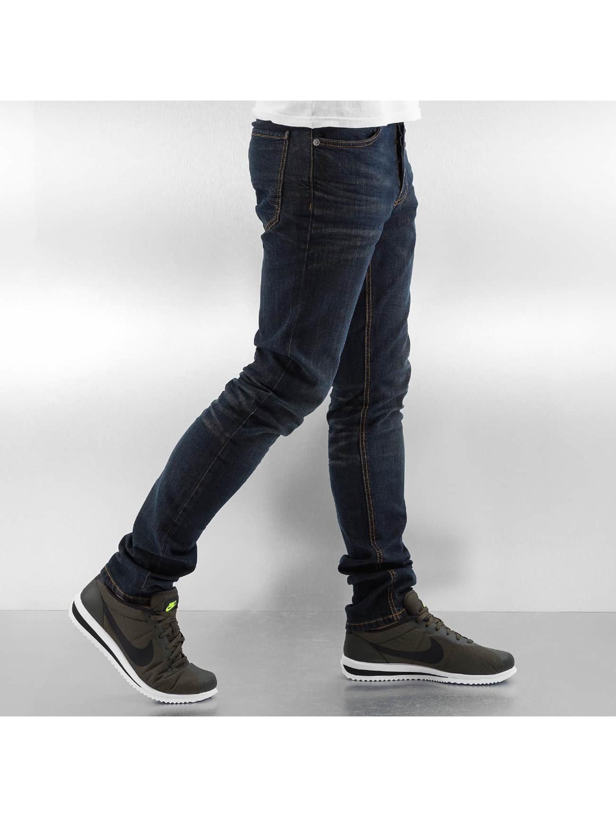 Amsterdenim Skinny Jeans Wash niebieski