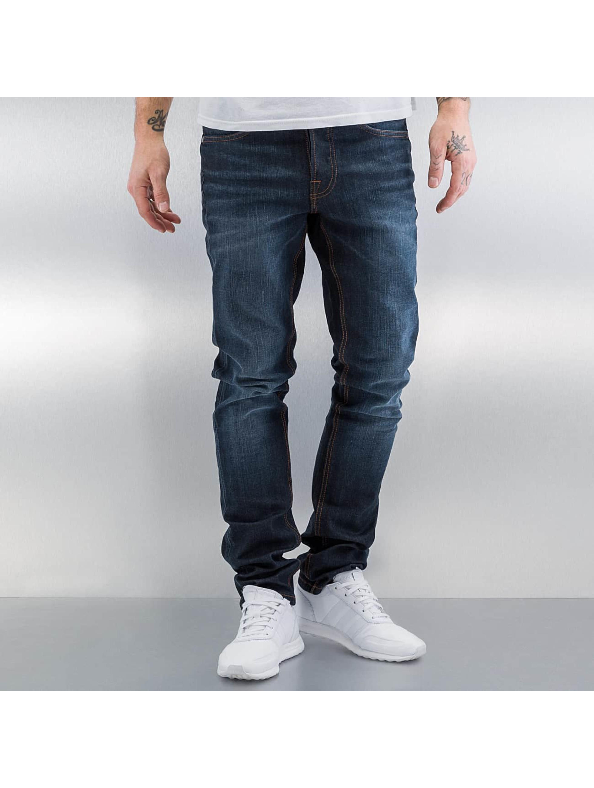 Amsterdenim Straight Fit Jeans Mar blau