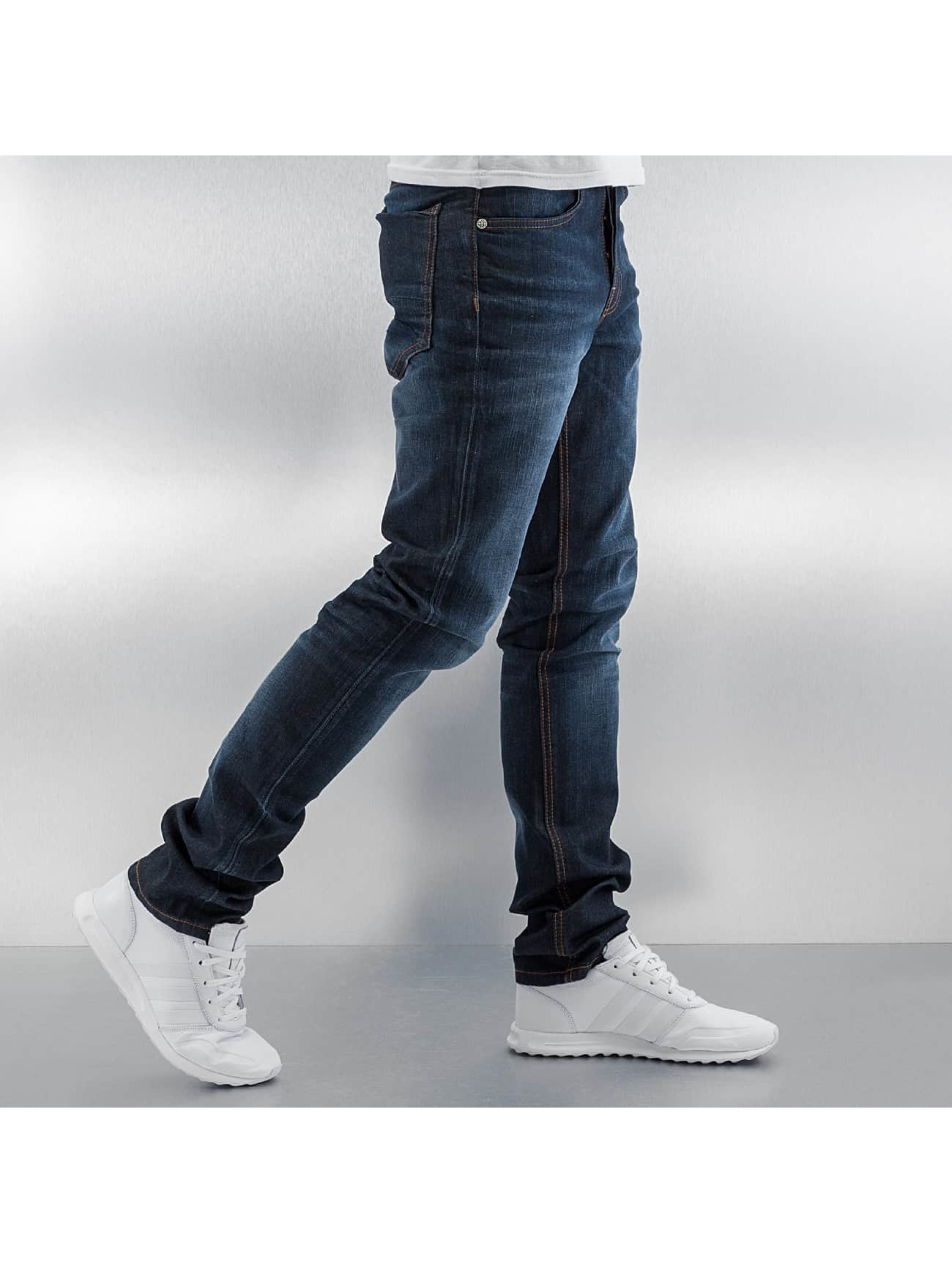 Amsterdenim Straight fit jeans Mar blauw