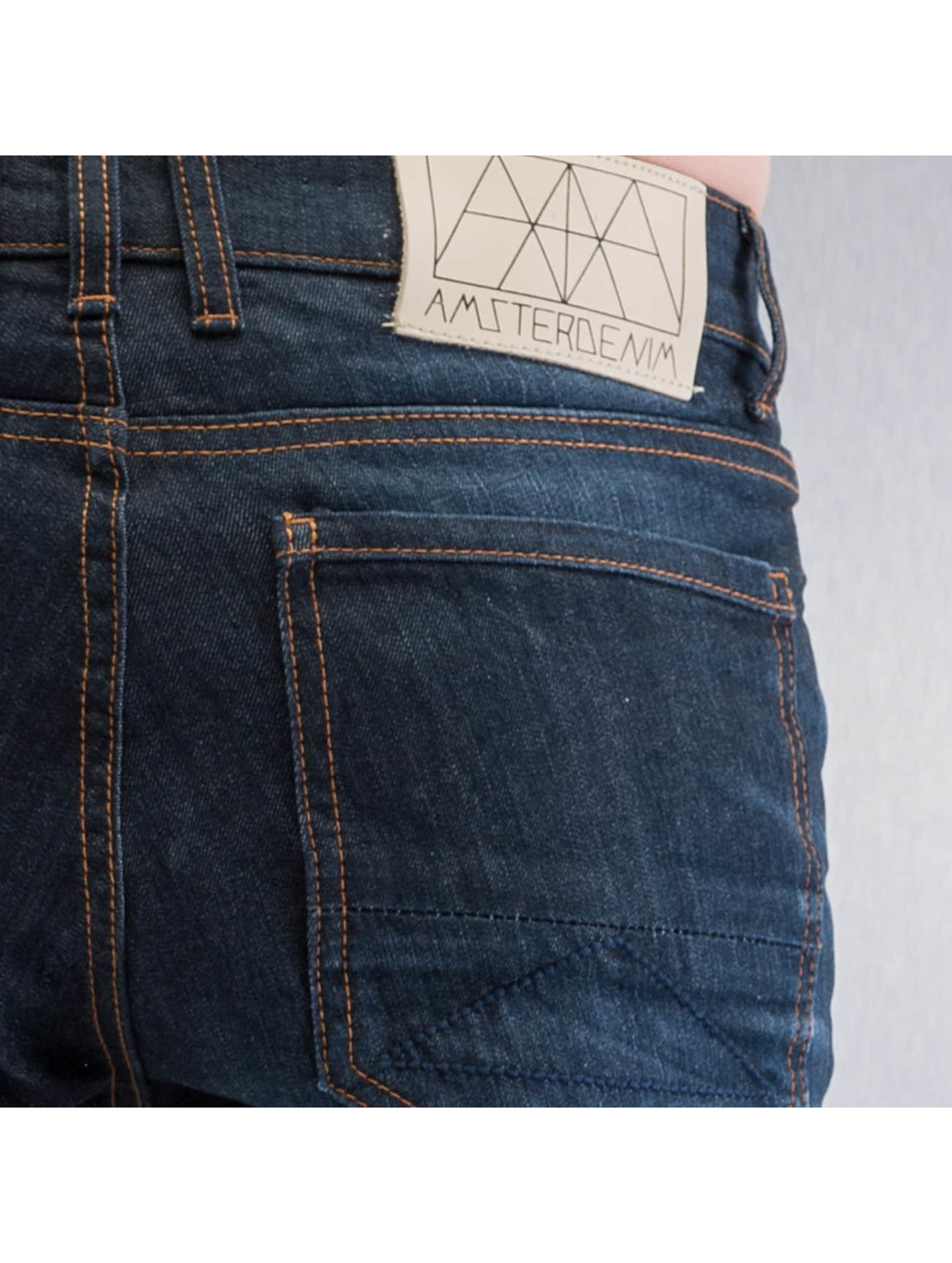 Amsterdenim Straight Fit Jeans Mar blue