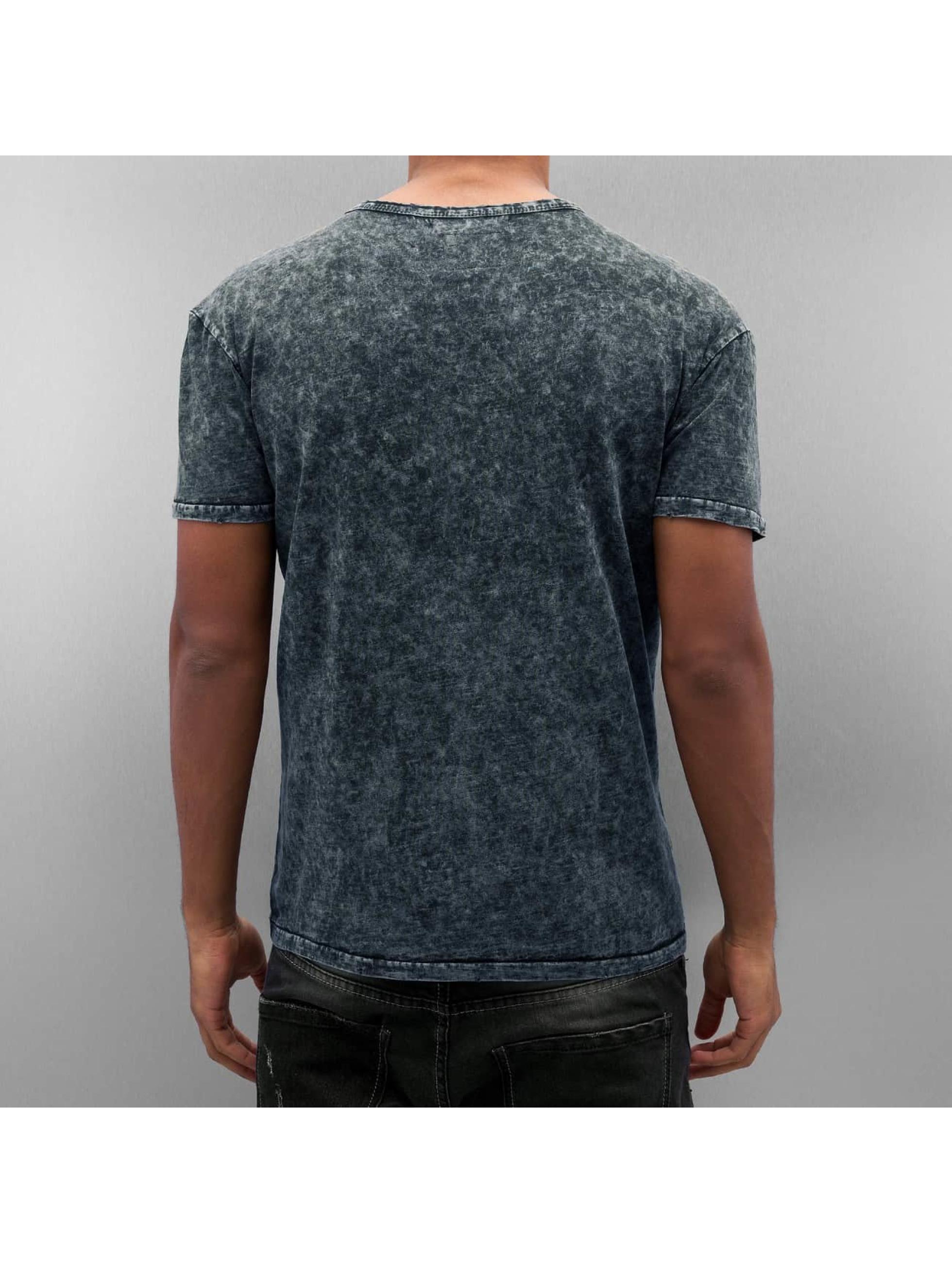 Amsterdenim t-shirt Jaap blauw