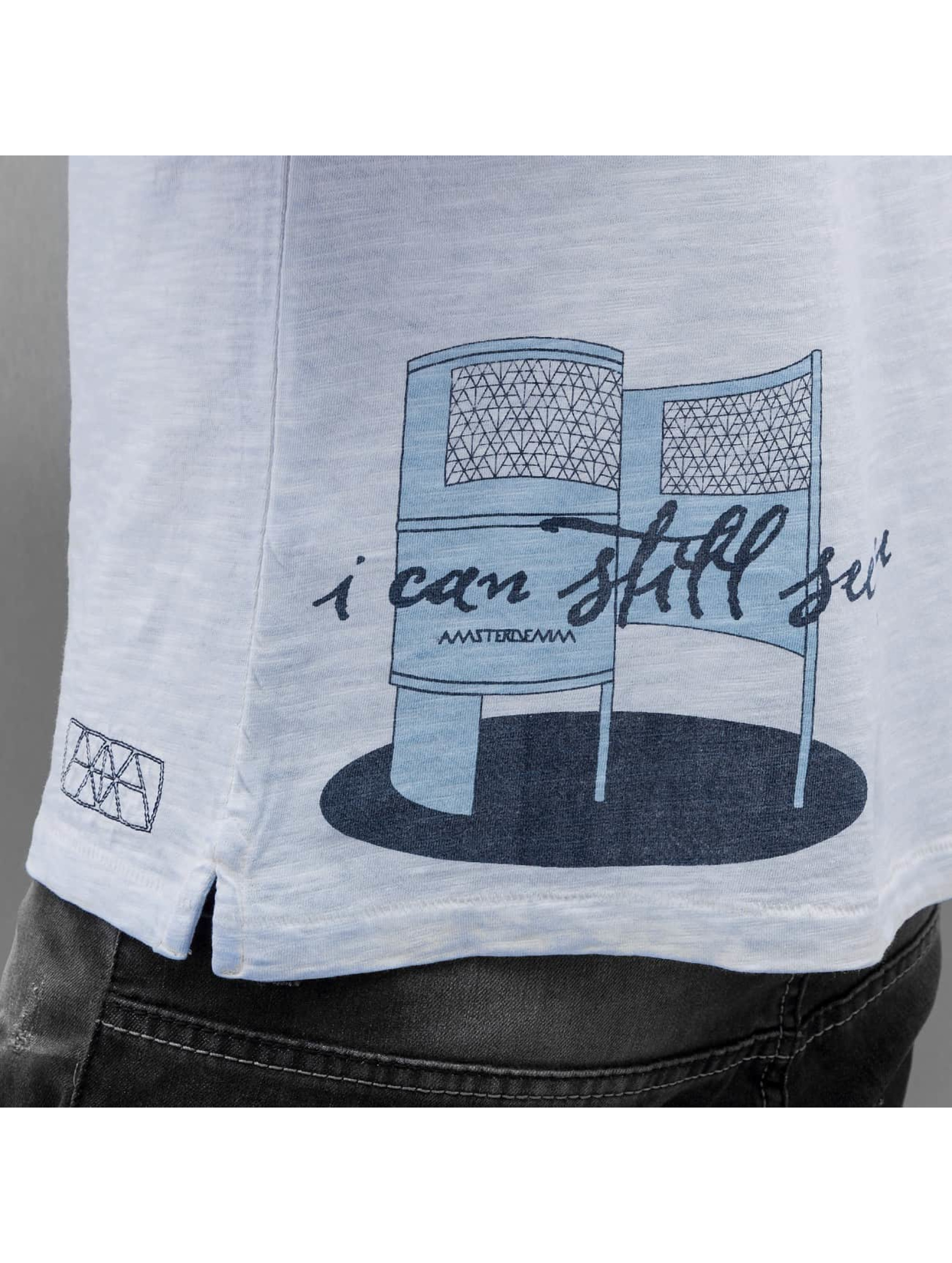 Amsterdenim T-Shirt Tommy Pishok bleu
