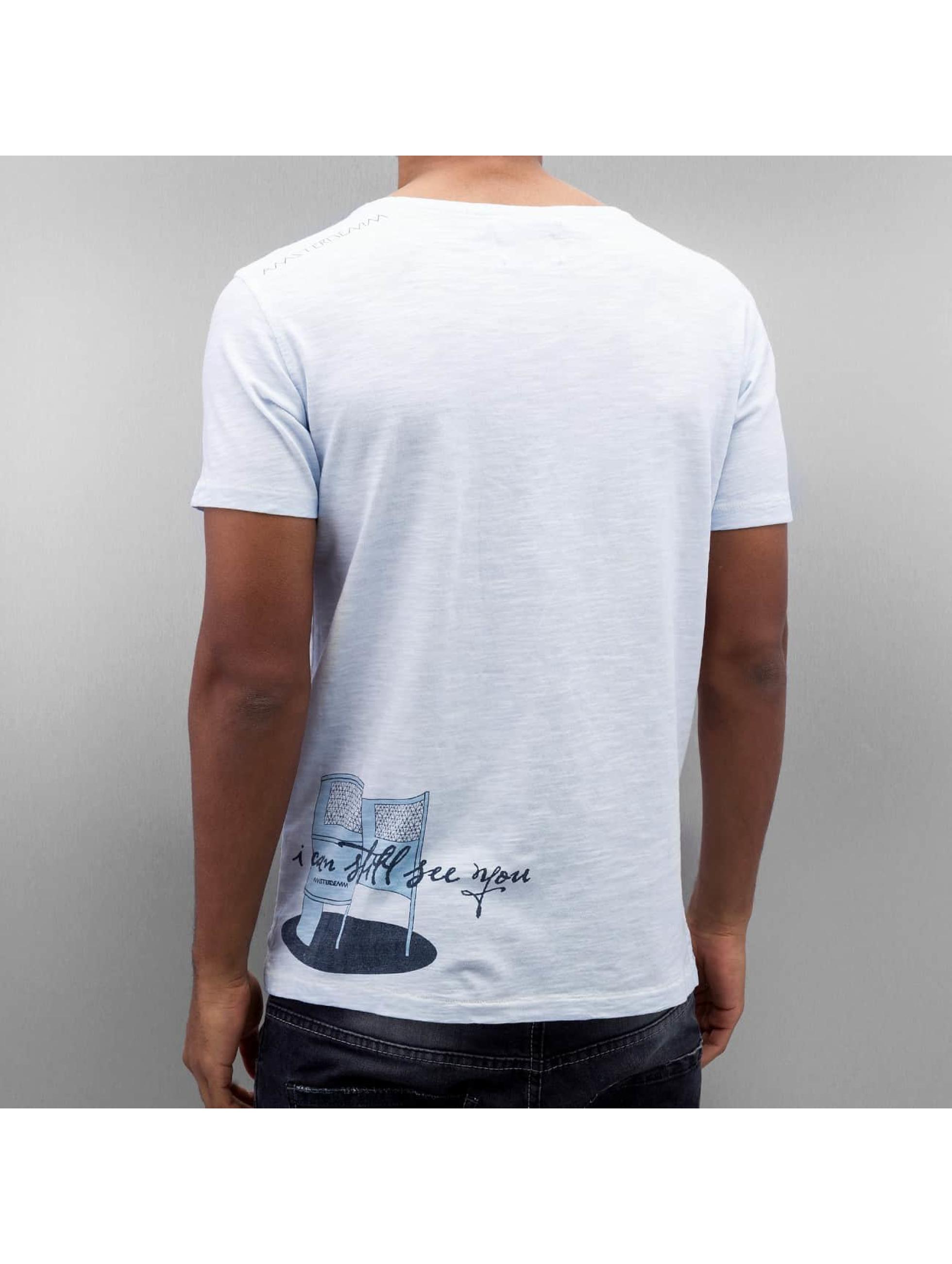 Amsterdenim T-shirt Tommy Pishok blu