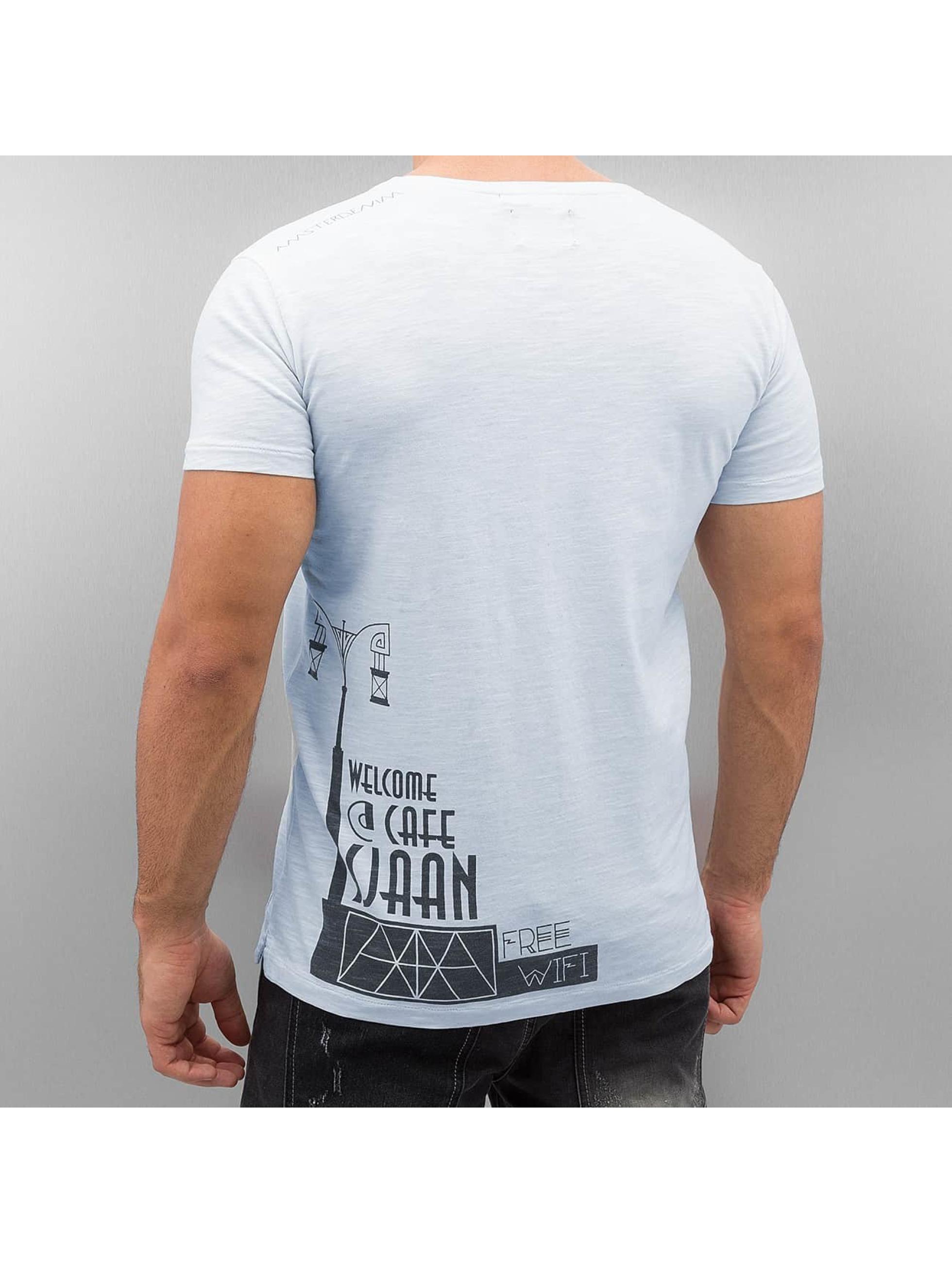 Amsterdenim T-shirt Tommy Sjaan blu
