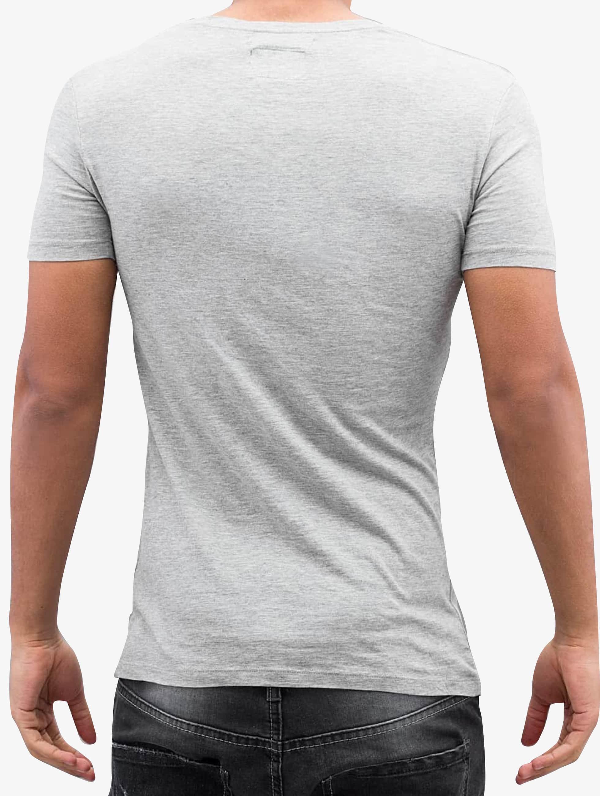 Amsterdenim T-shirt Aad grigio