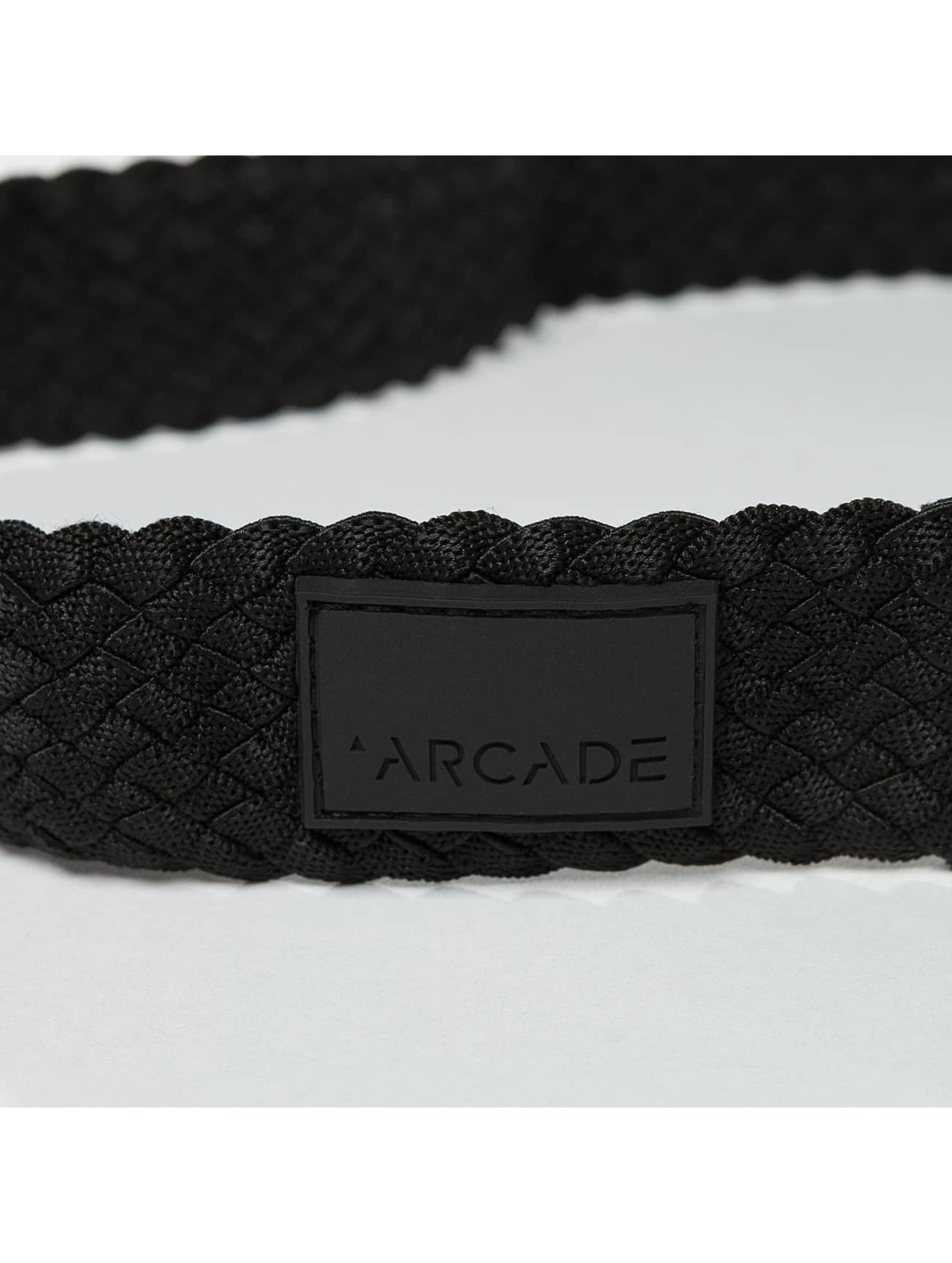ARCADE Gürtel Futureweave Collection Vapor schwarz