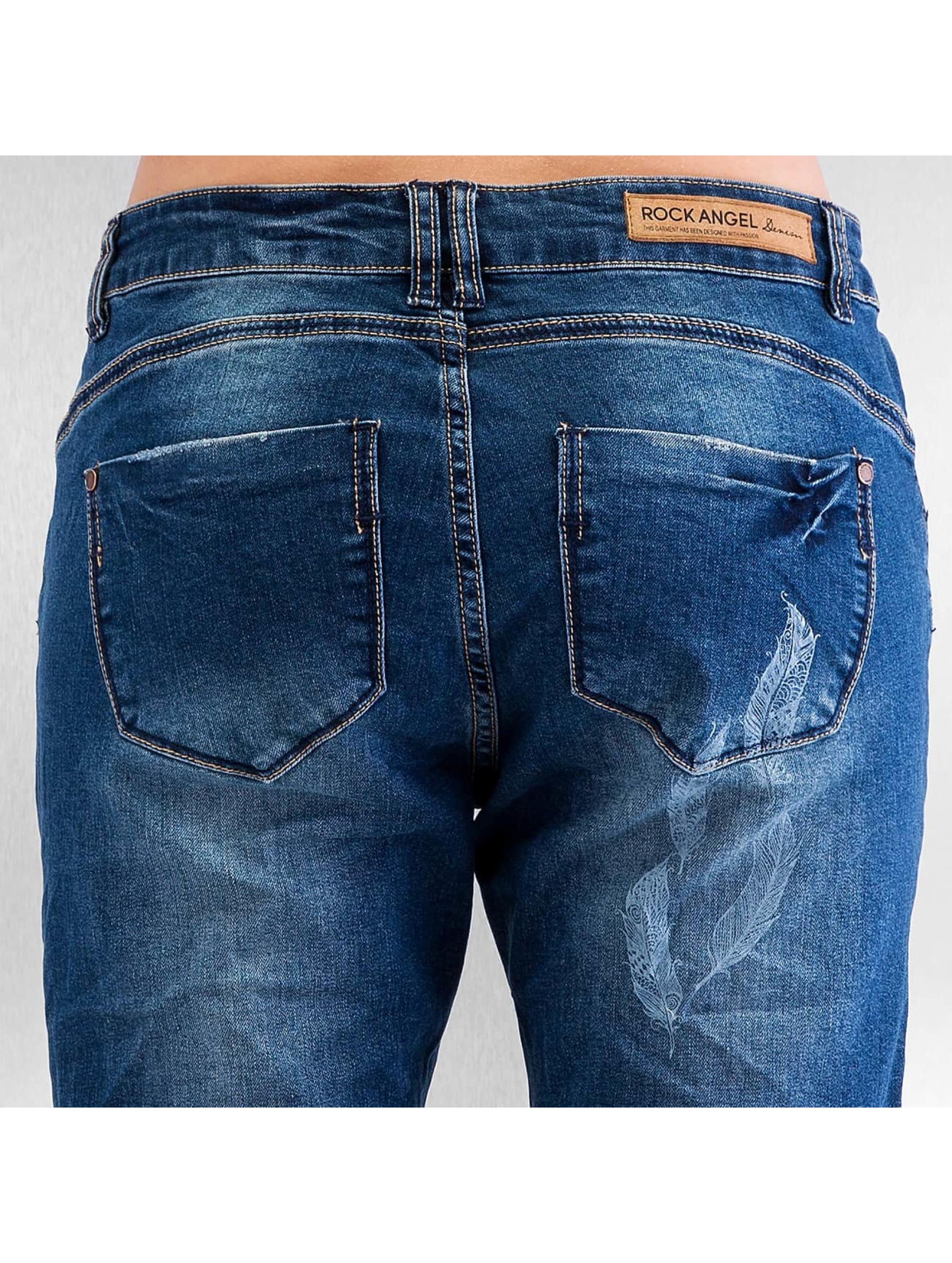 Authentic Style Úzke/Streč Feather modrá