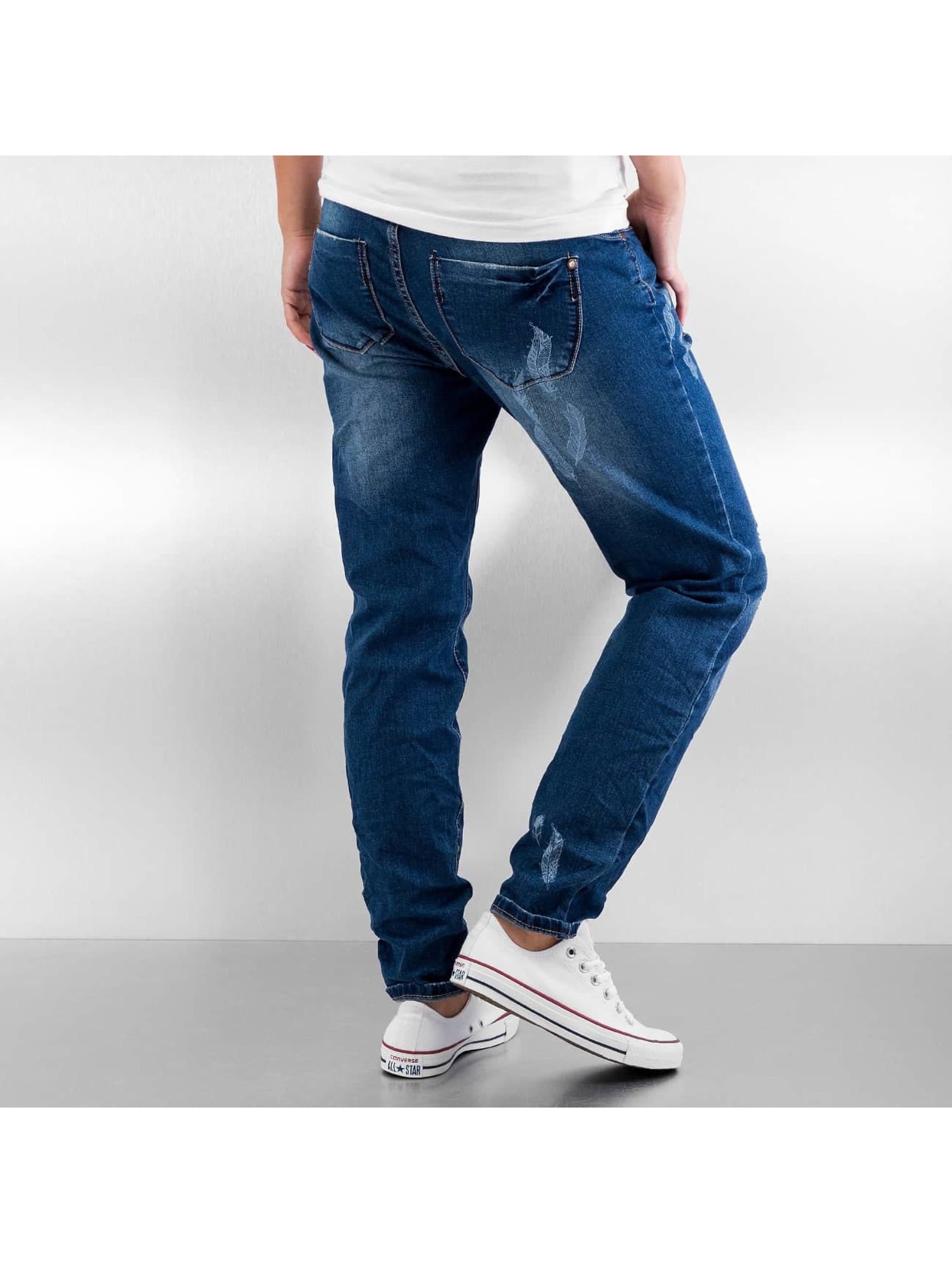 Authentic Style Облегающие джинсы Feather синий