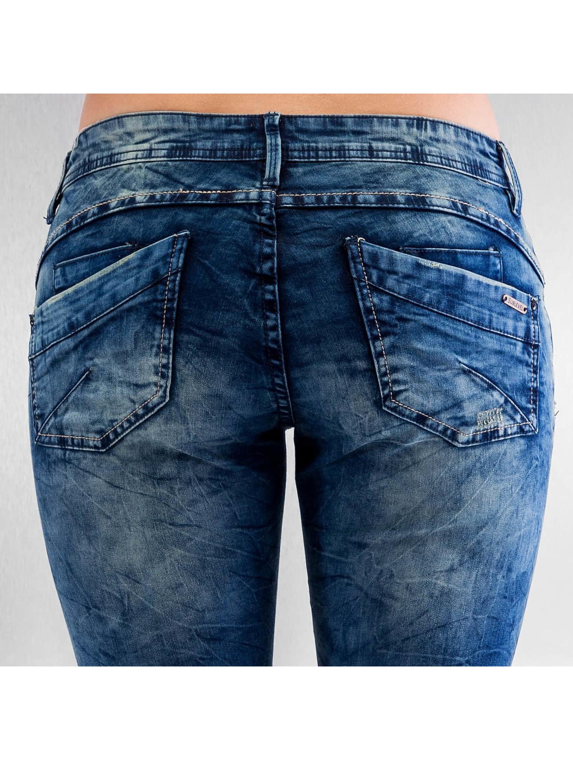 Authentic Style Облегающие джинсы Body Feel синий