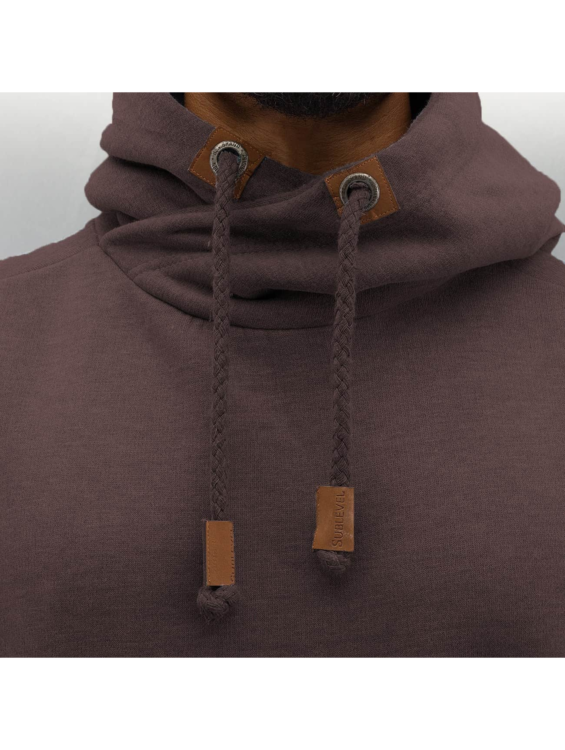 Authentic Style Hoodie Saban brown