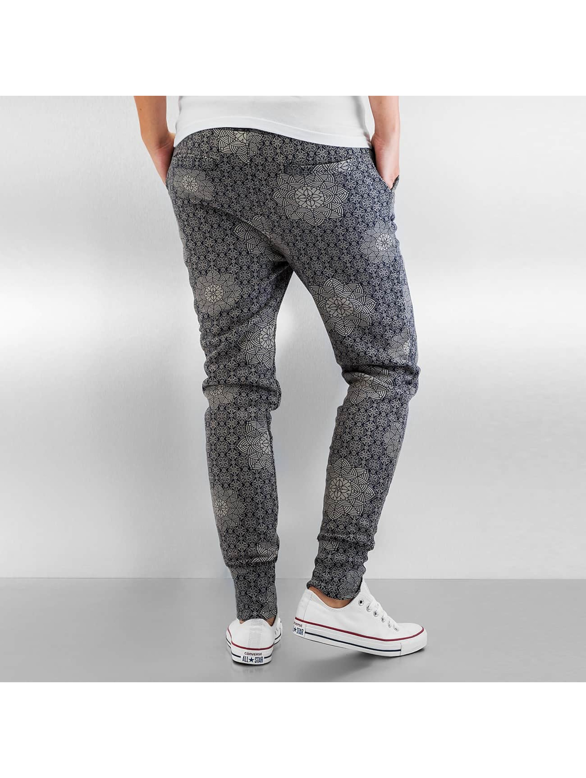 Authentic Style joggingbroek Pattern blauw
