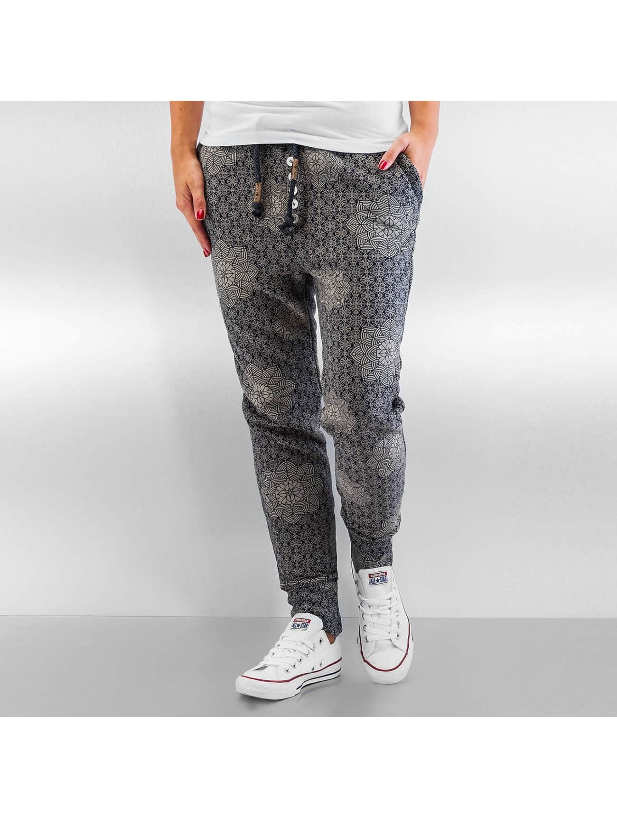 Authentic Style Jogginghose Pattern blau
