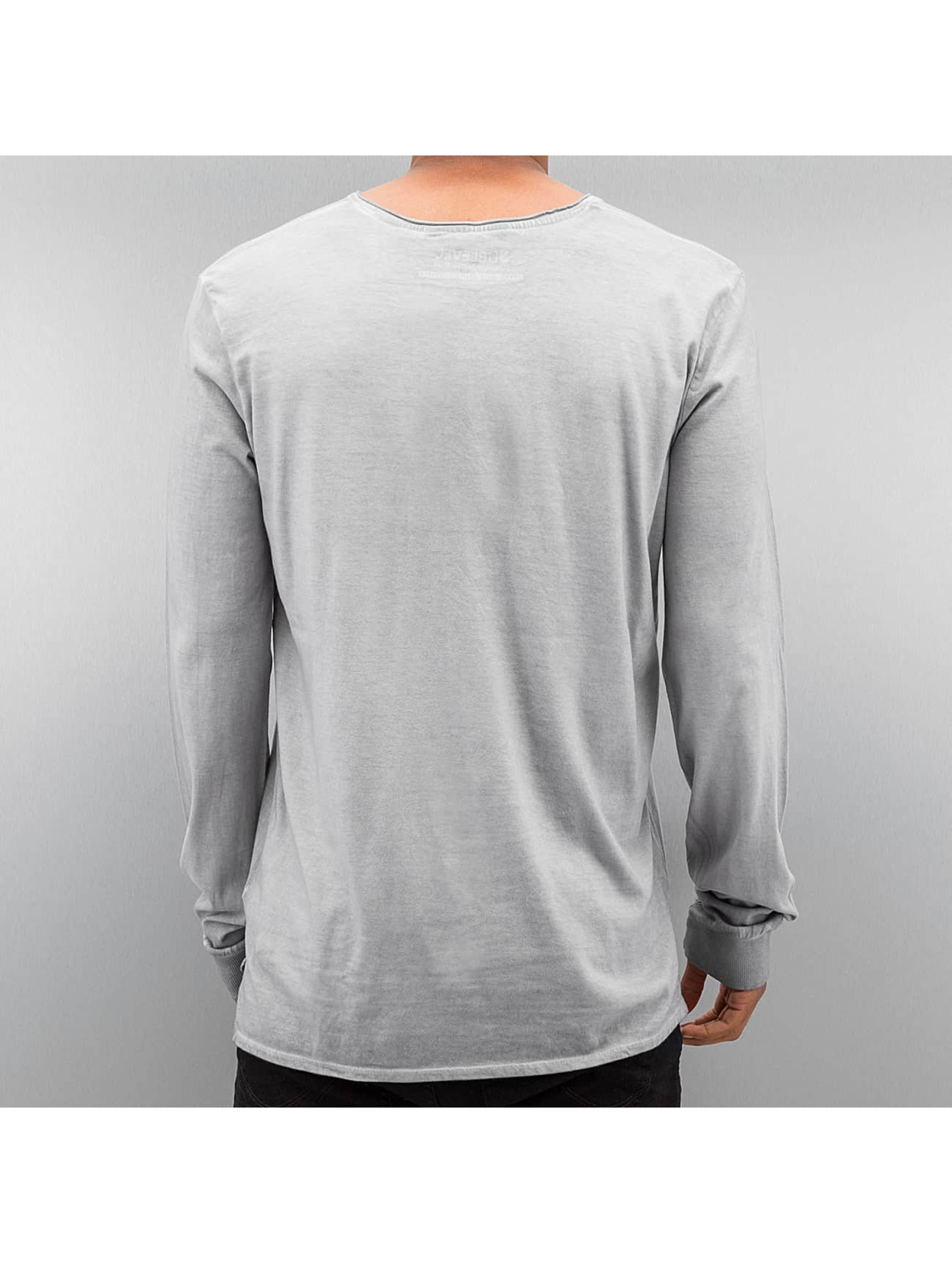 Authentic Style Longsleeve Dyed grijs