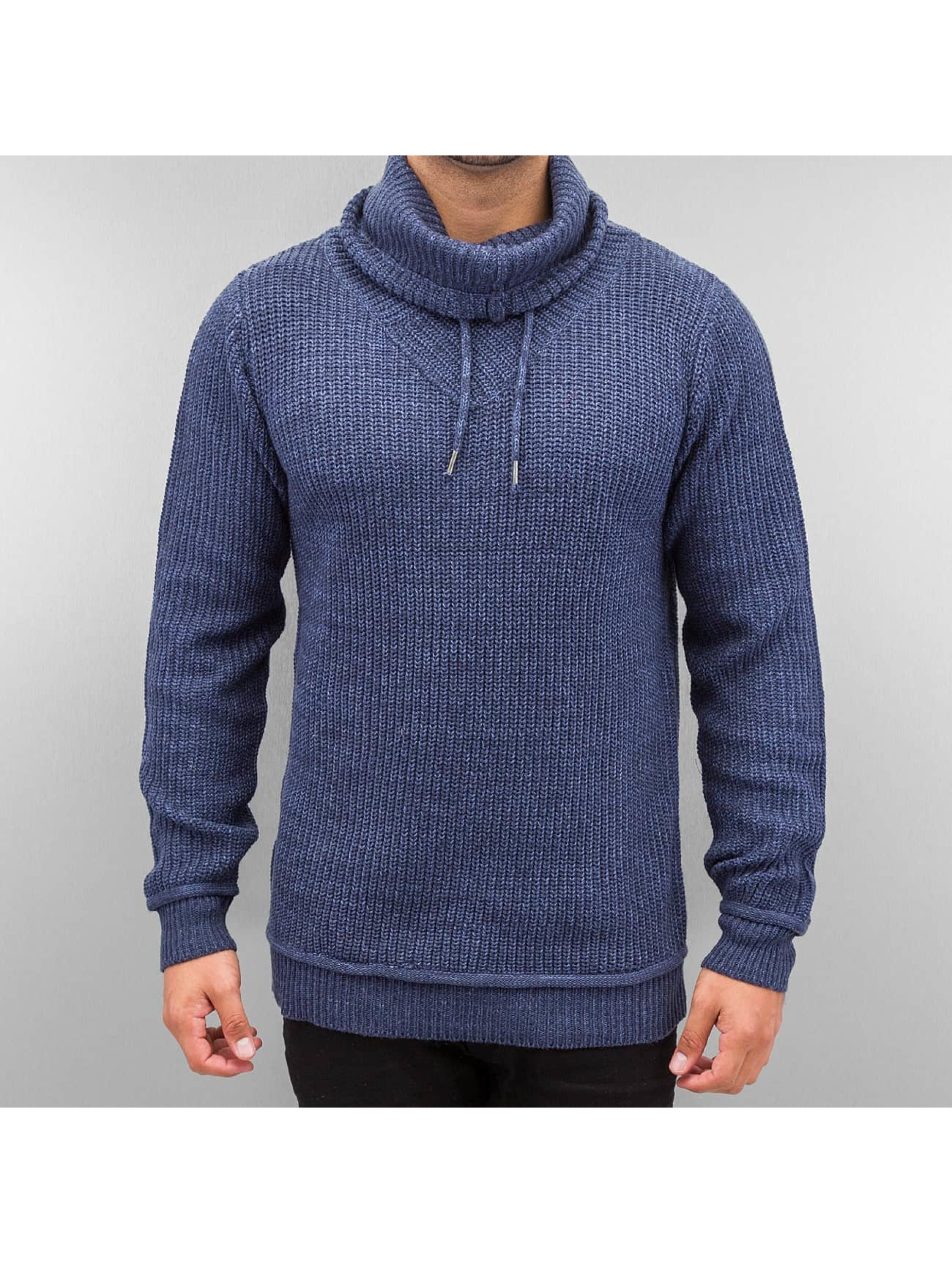 Authentic Style Pullover Knit blau