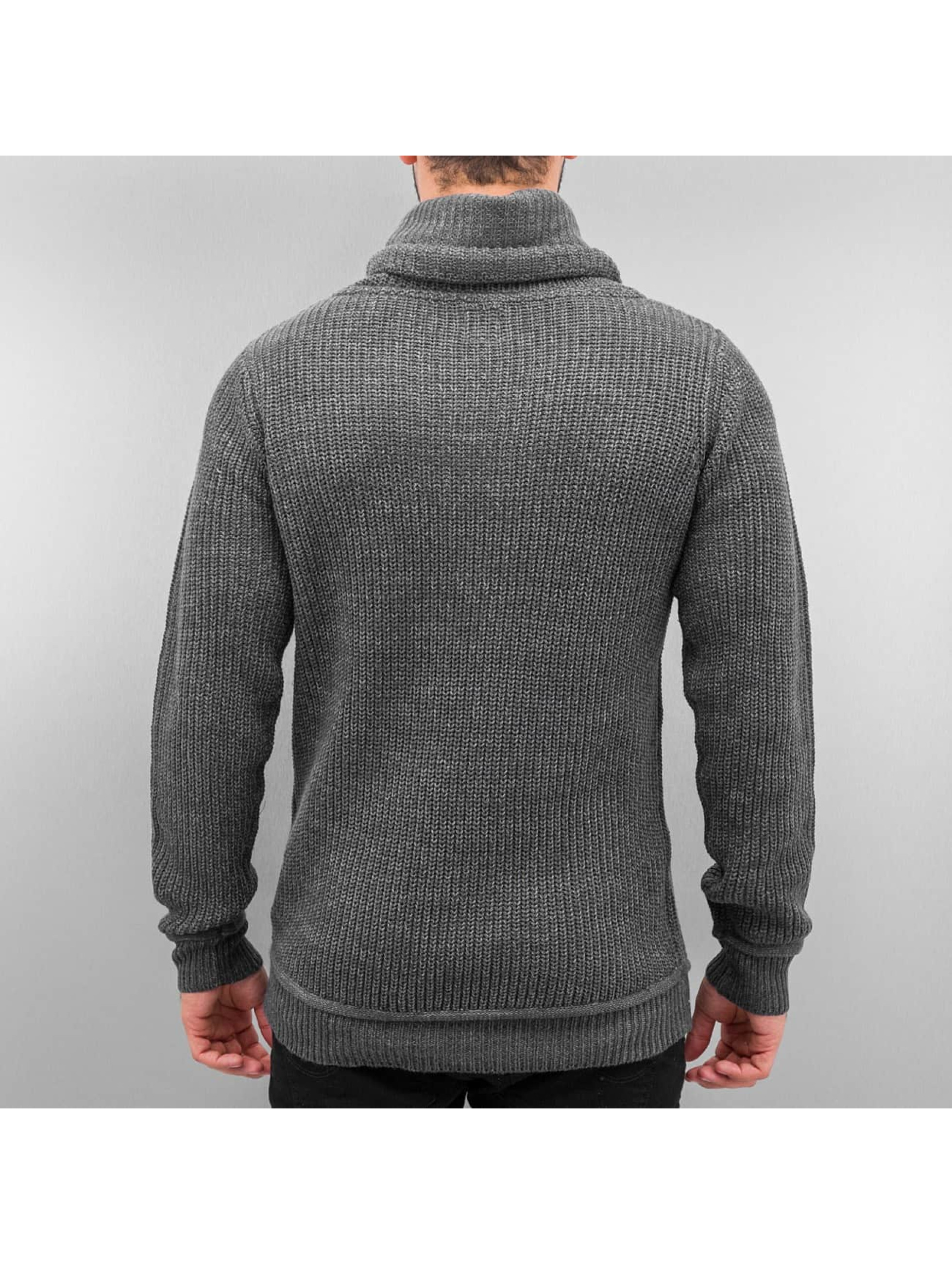 Authentic Style Pullover Knit grau