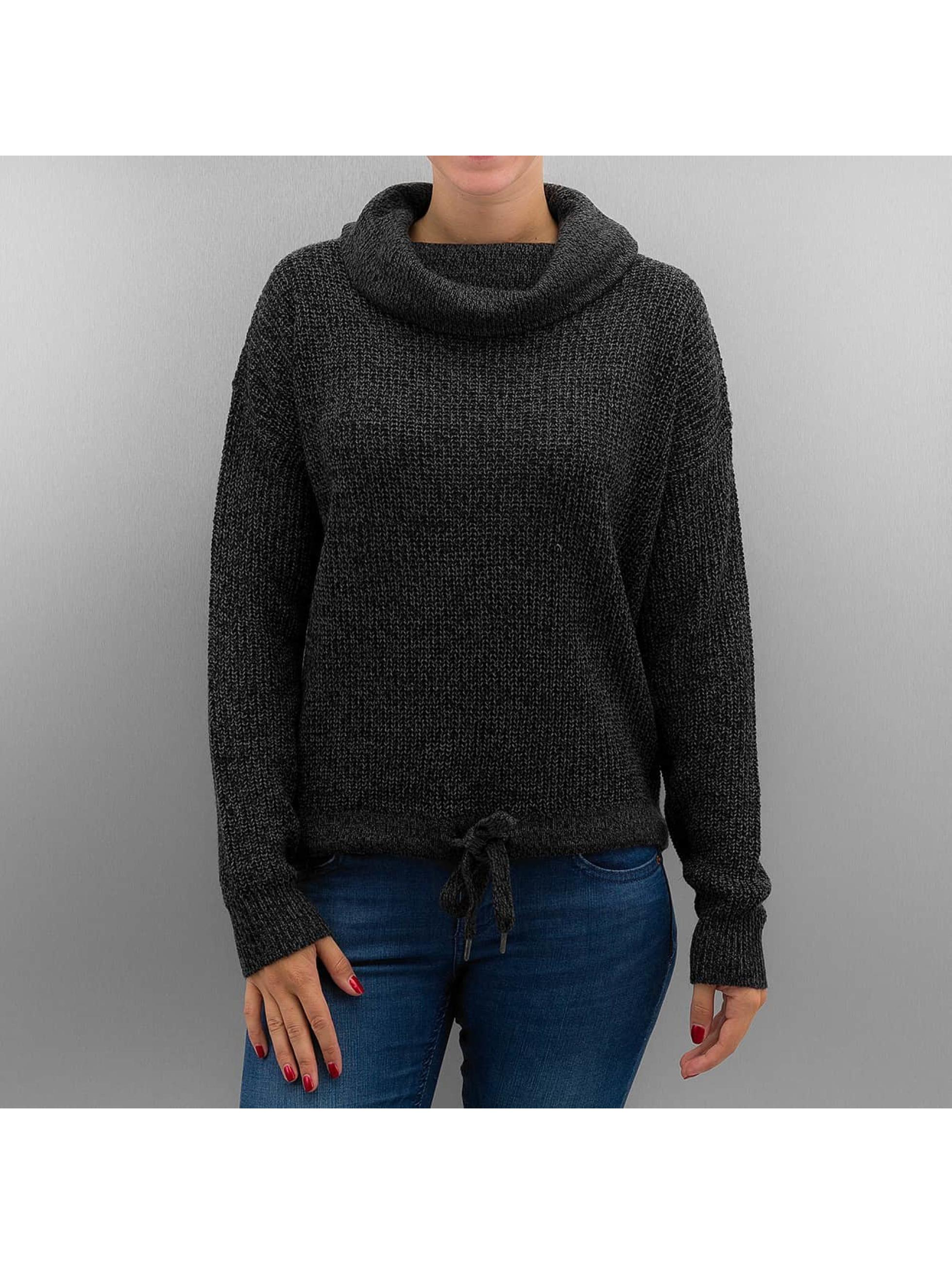 Authentic Style Haut / Pullover Alina en noir