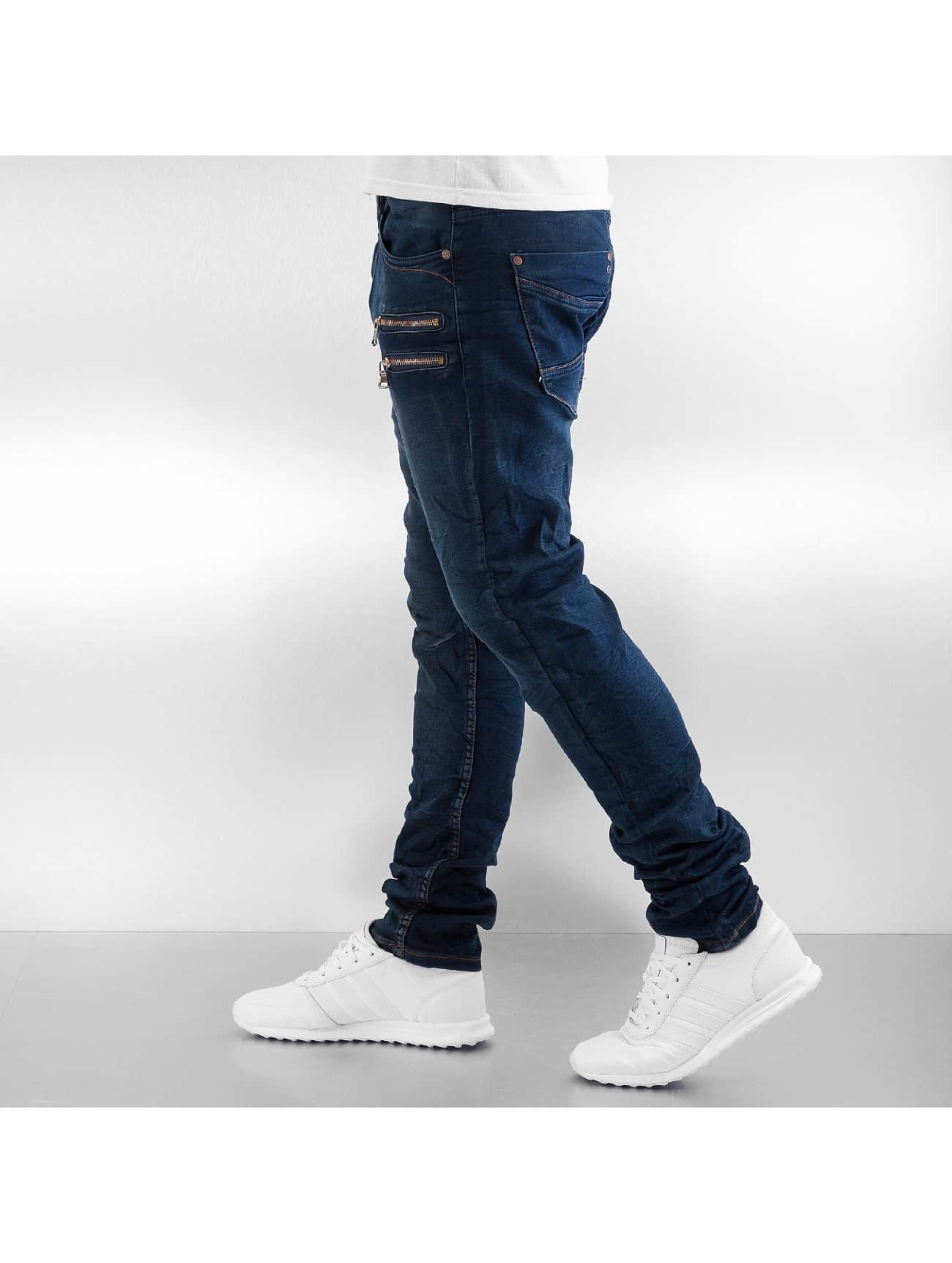 Authentic Style Skinny jeans Jogger blauw