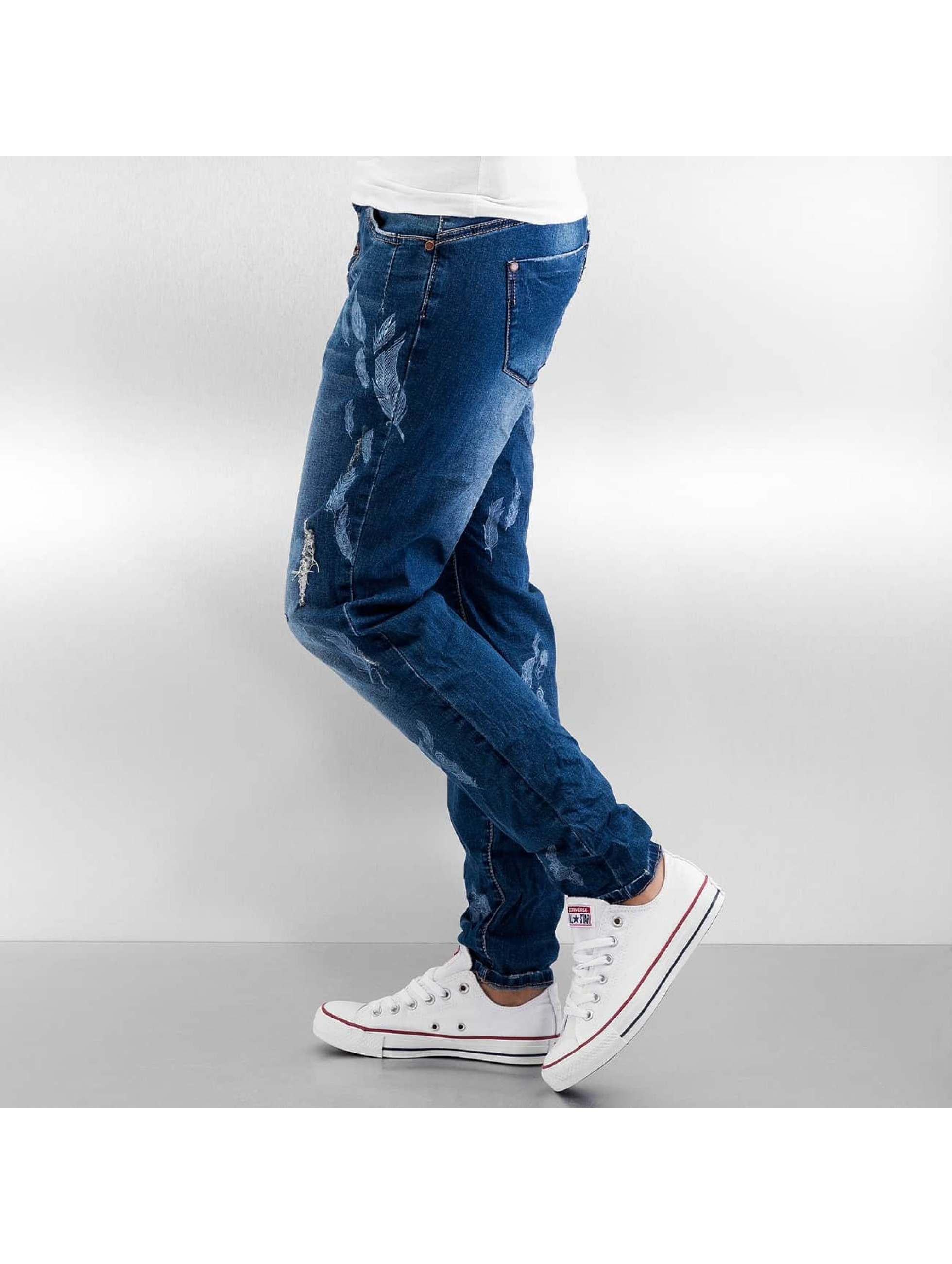 Authentic Style Skinny jeans Feather blauw