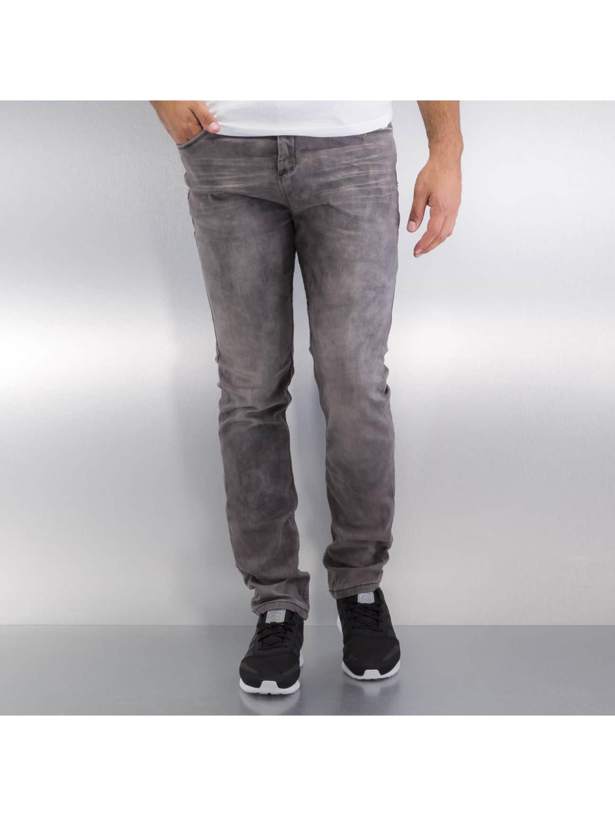 Authentic Style Straight Fit farkut Jogg harmaa