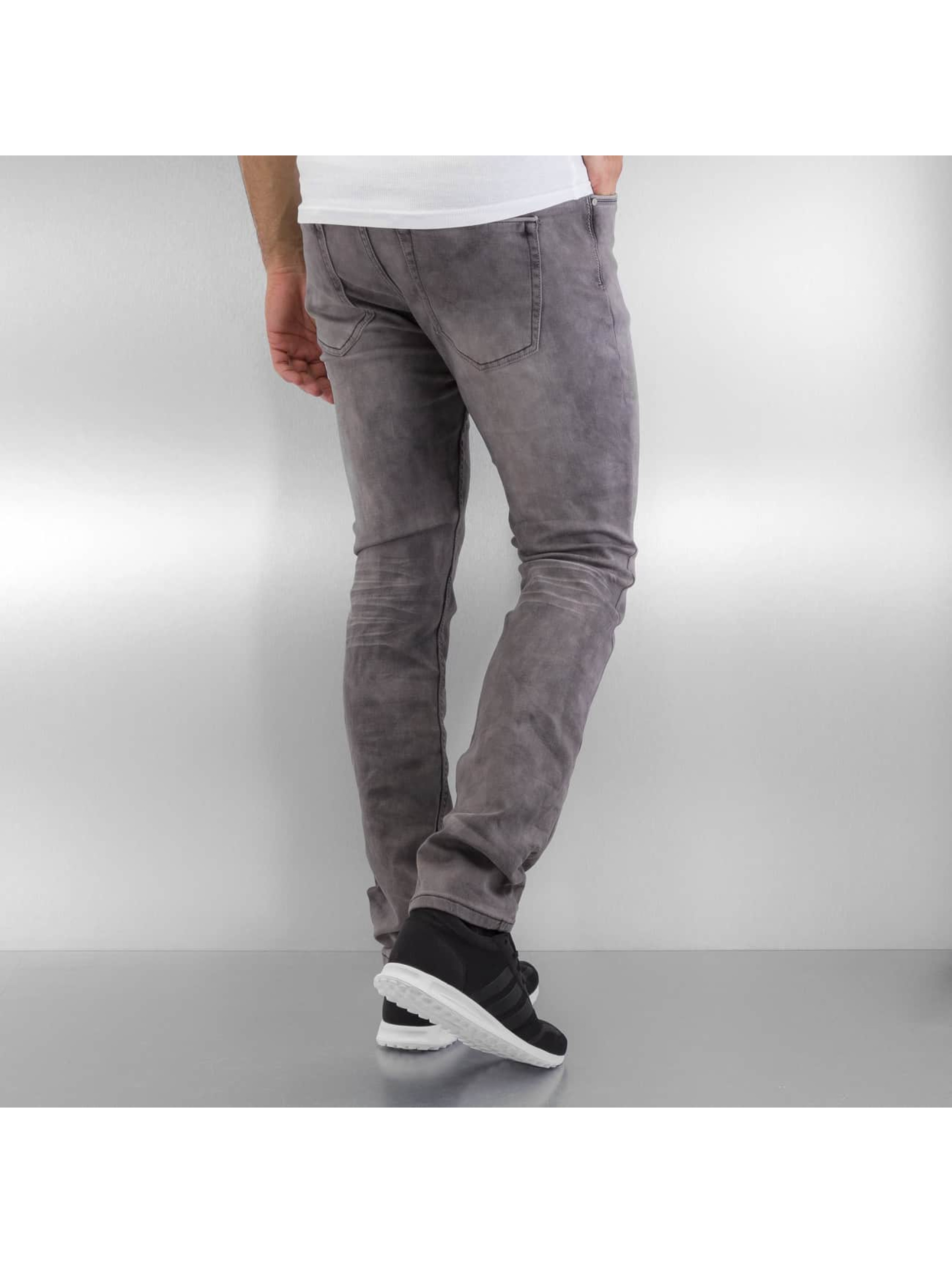Authentic Style Straight Fit Jeans Jogg grå