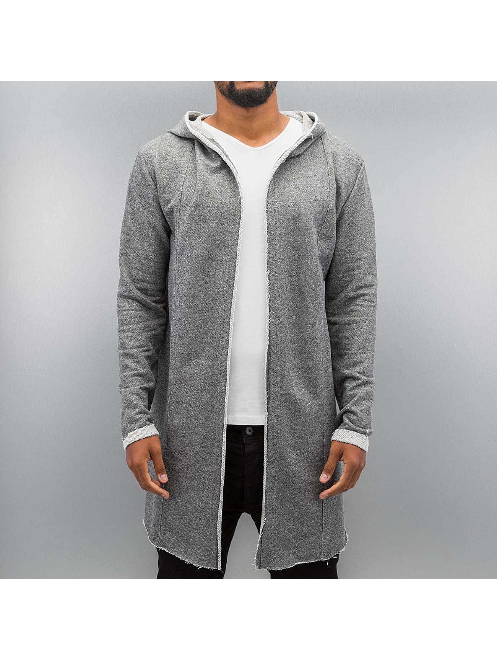 Authentic Style Strickjacke Sweat grau