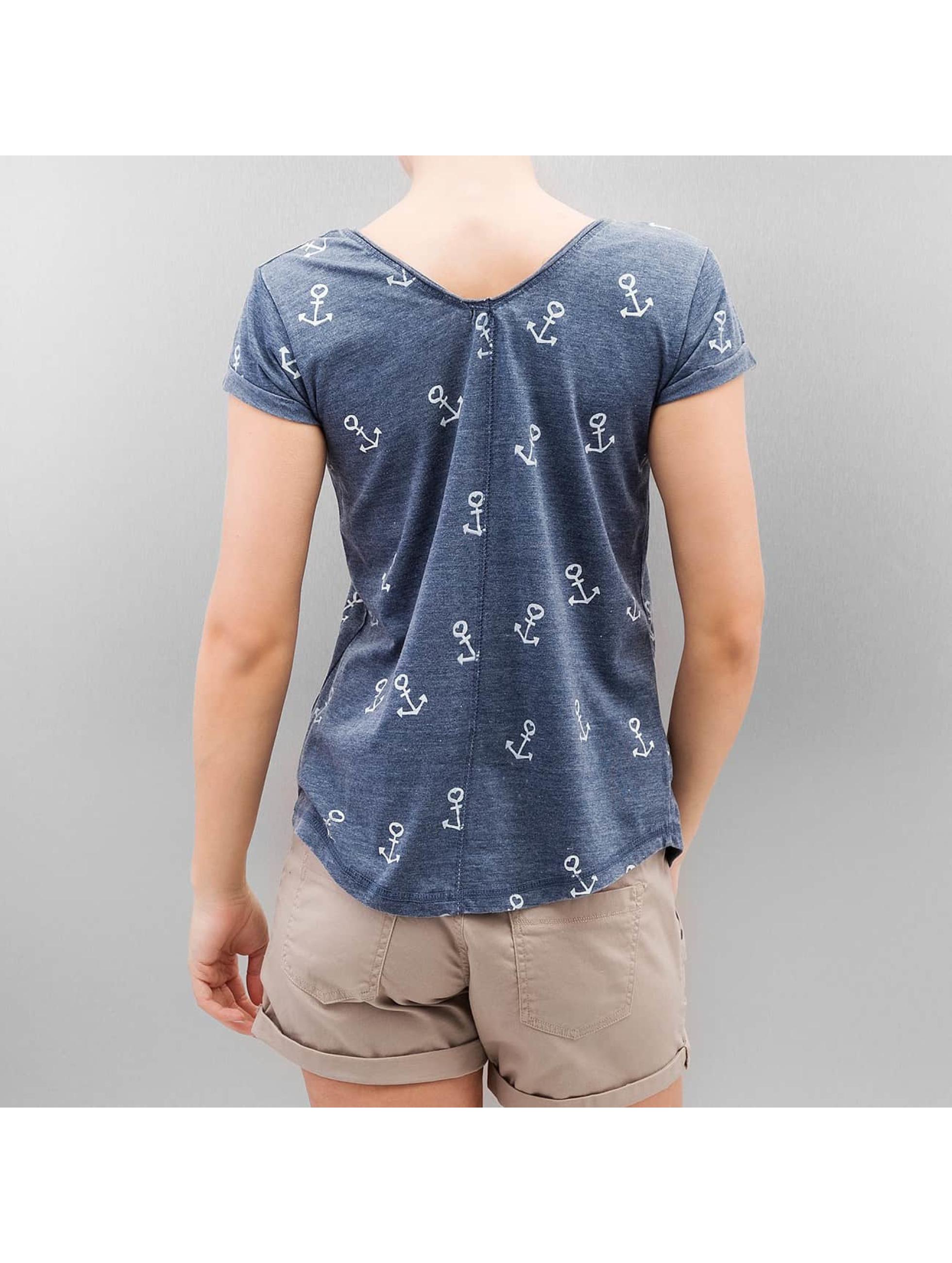 Authentic Style T-Shirt Bona blue
