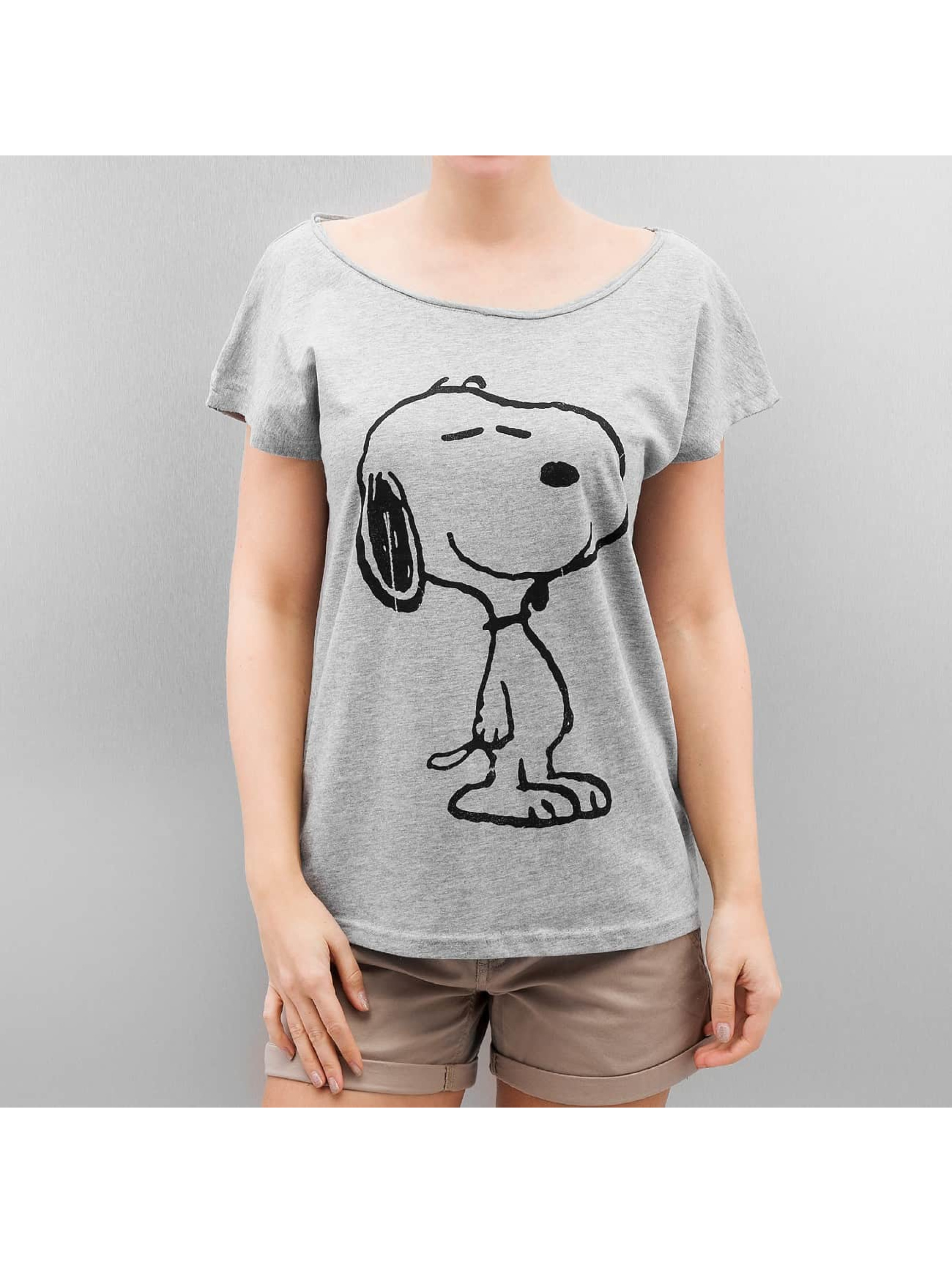 Authentic Style T-Shirt Peanuts grey