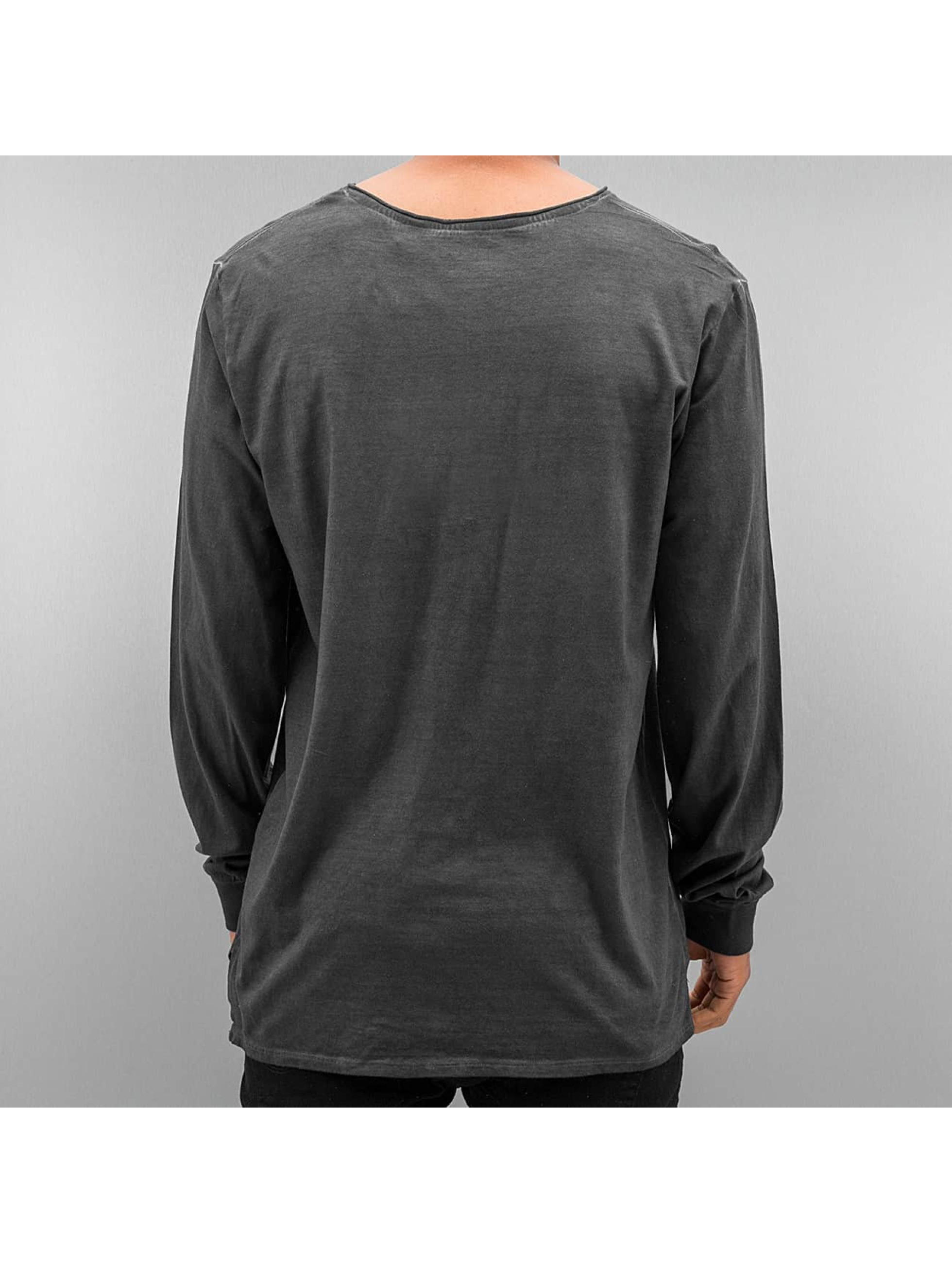 Authentic Style T-Shirt manches longues Dyed gris