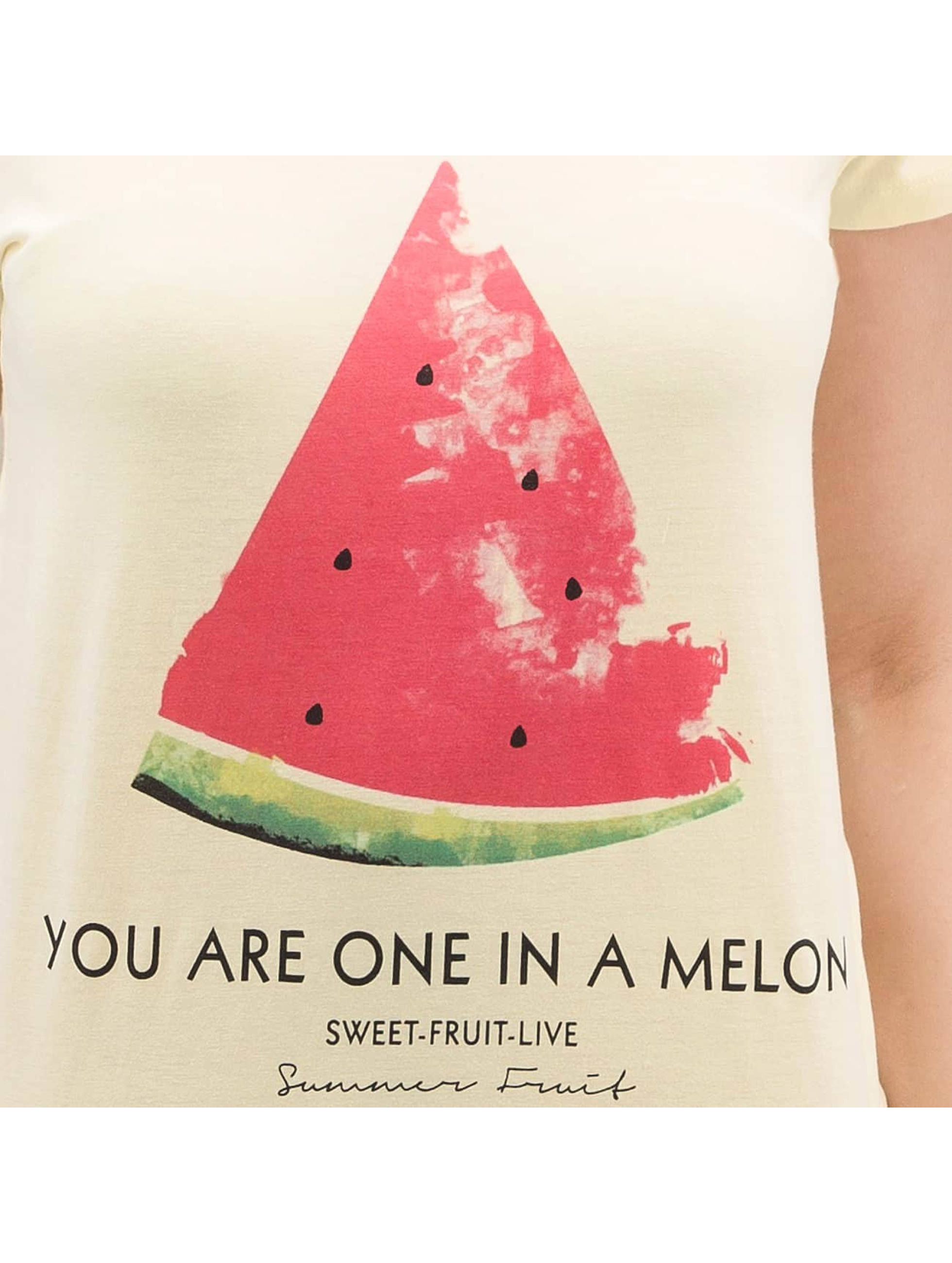 Authentic Style T-Shirt Summer Fruit yellow