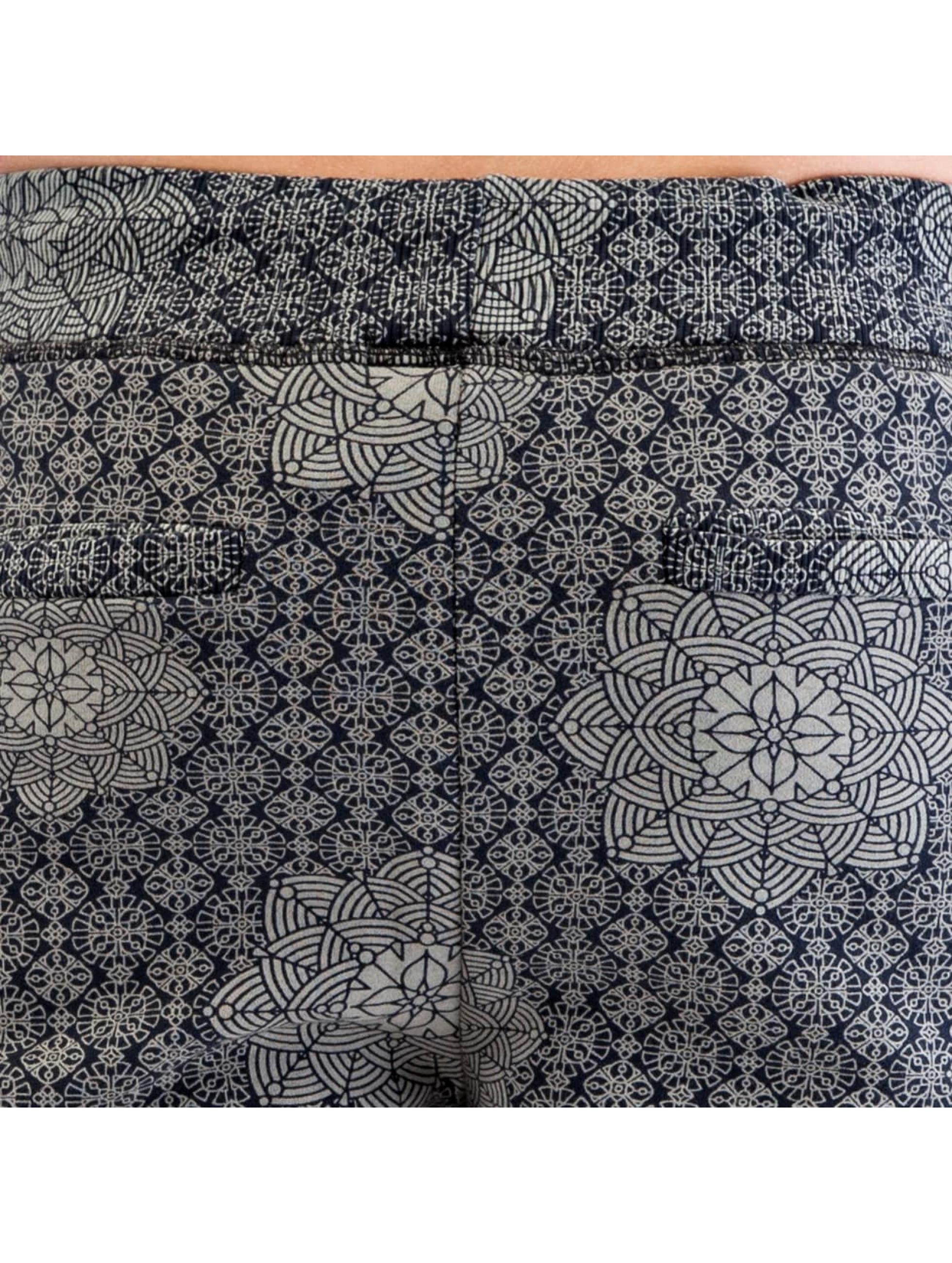 Authentic Style tepláky Pattern modrá