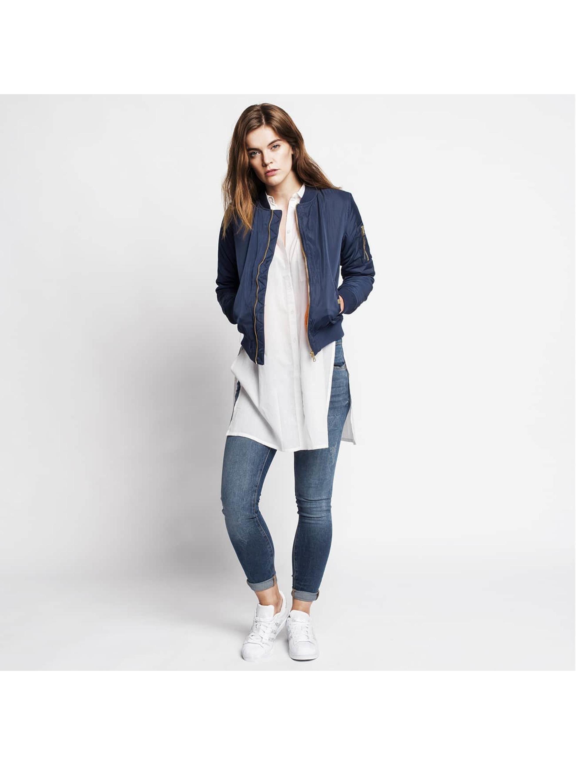 Authentic Style Tynne bukser Destroyed blå