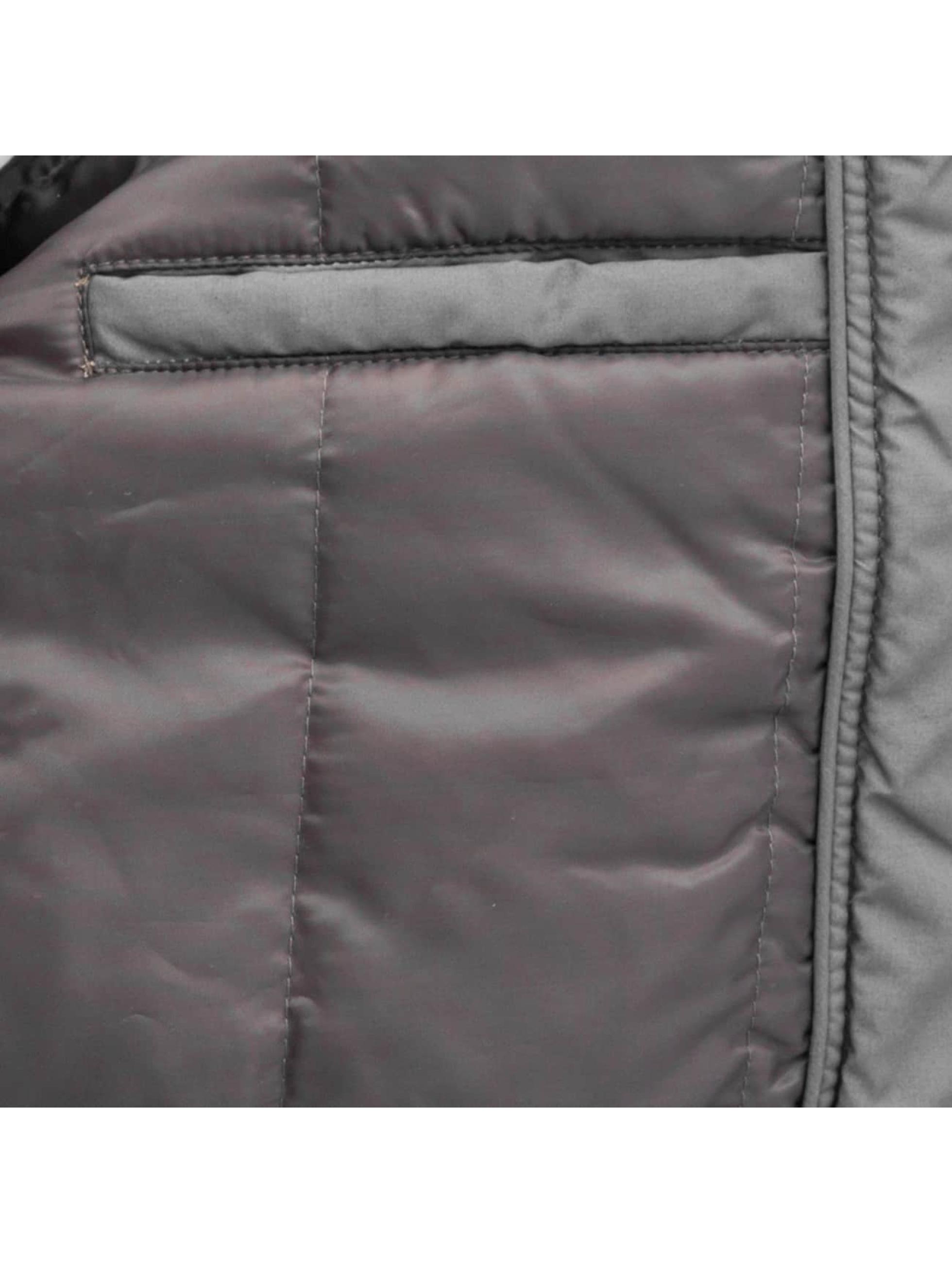 Authentic Style Winterjacke Curt grau