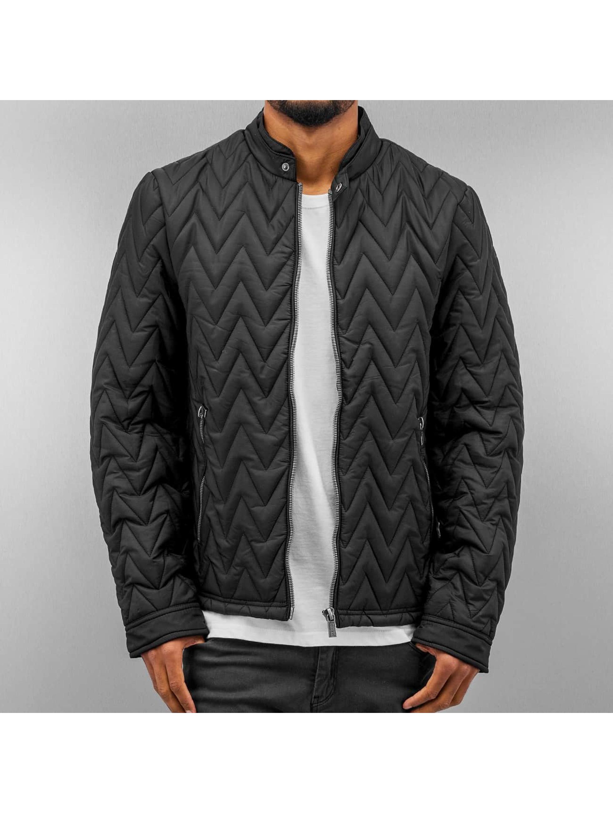 Authentic Style winterjas Laurence zwart