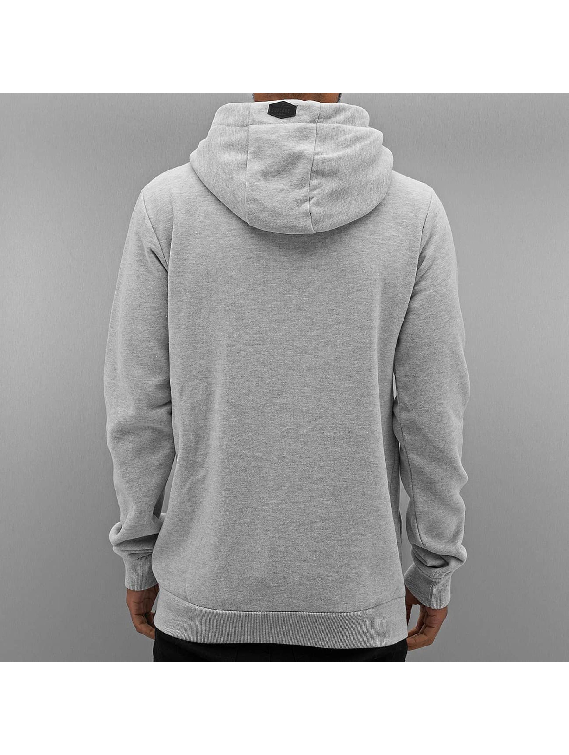 Authentic Style Zip Hoodie Sweat šedá