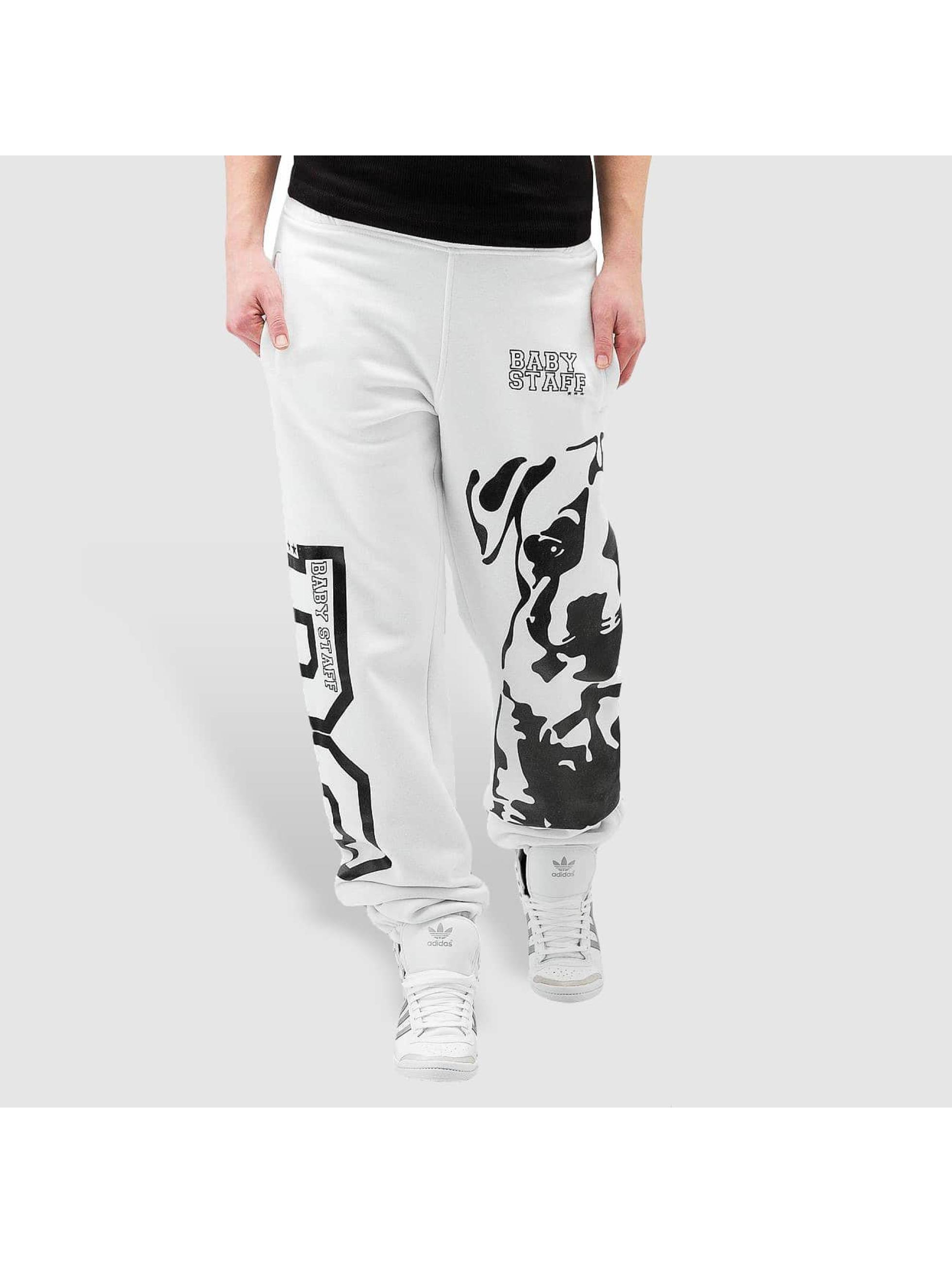 Babystaff Спортивные брюки Puppy белый