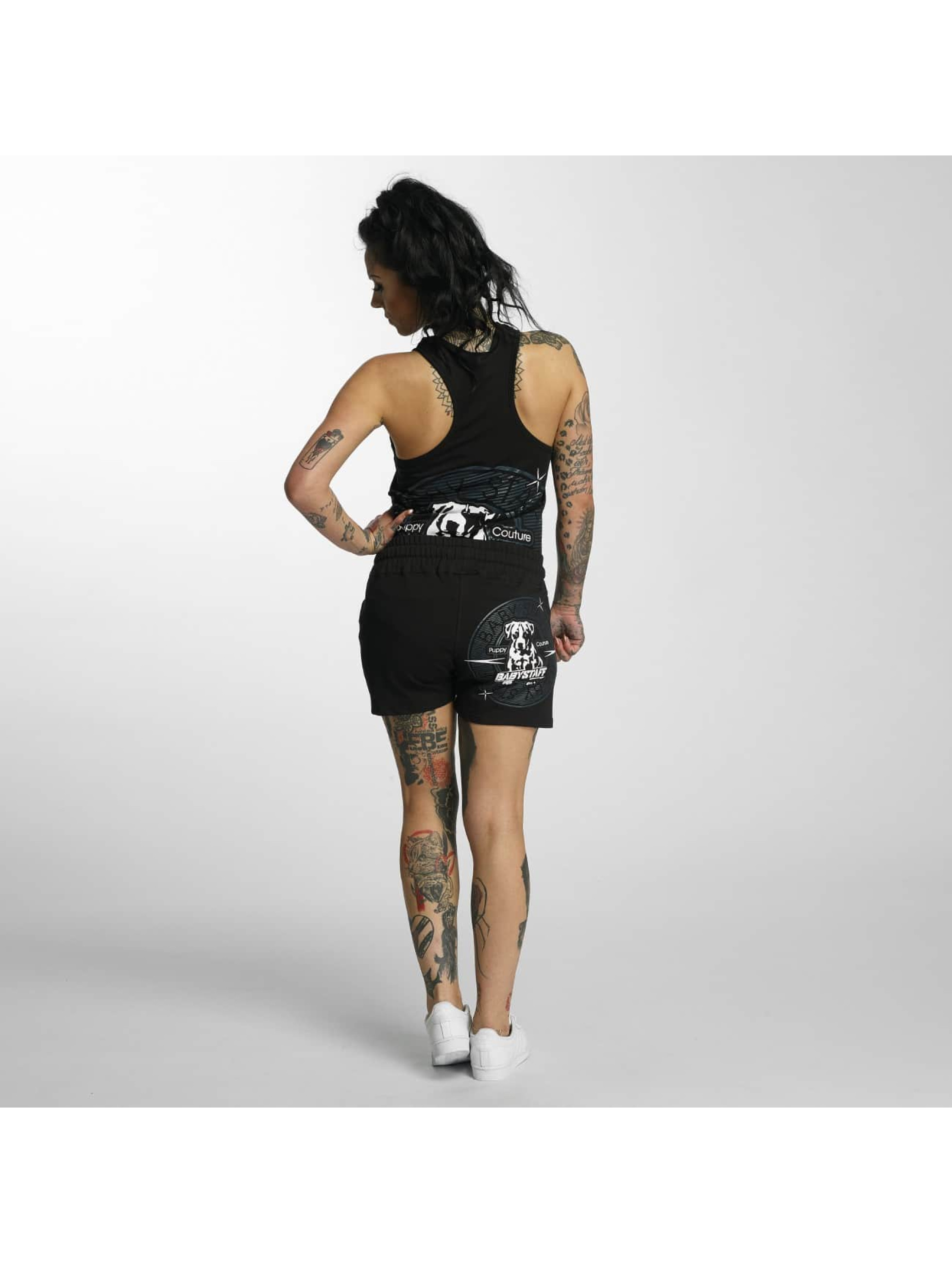 Babystaff shorts Trea zwart